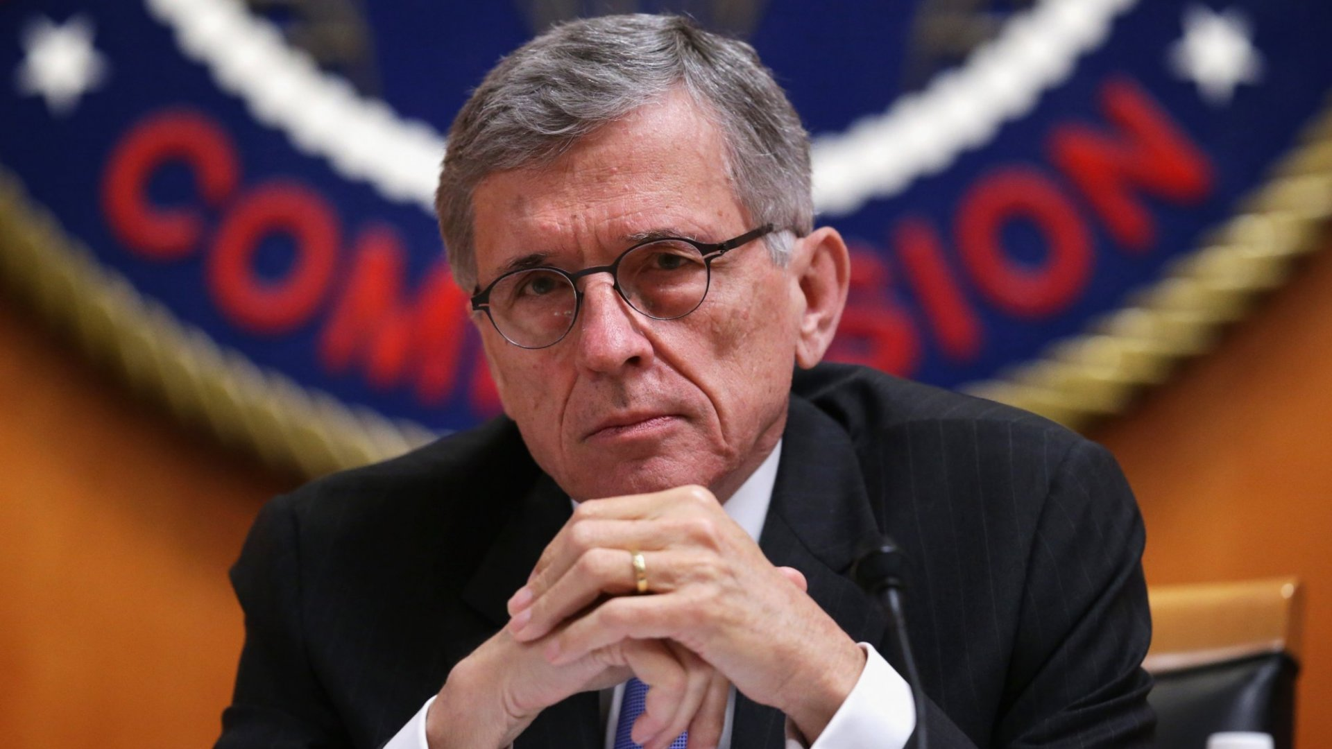 Federal Communications Commission (FCC) Chairman Tom Wheeler. (Photo by Alex Wong/Getty Images)