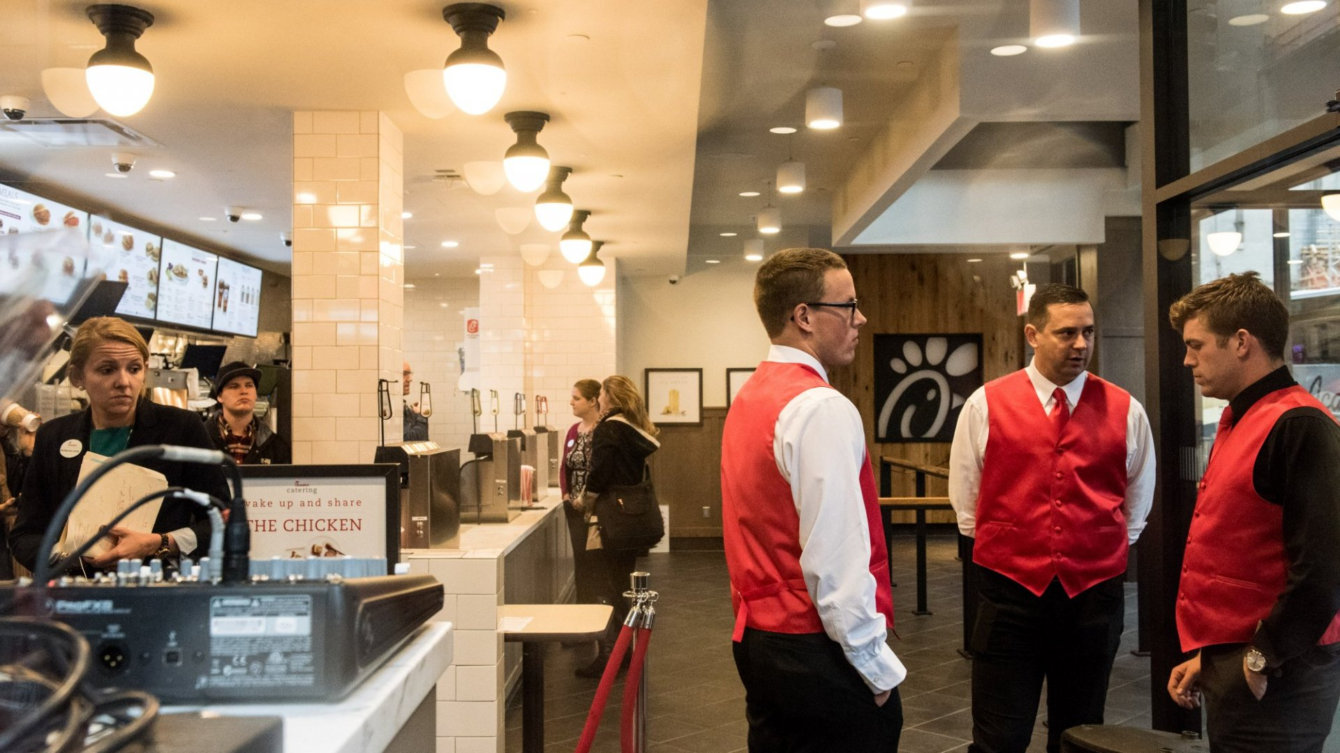 This Question Helps Chick-fil-A Select the Best Franchisees