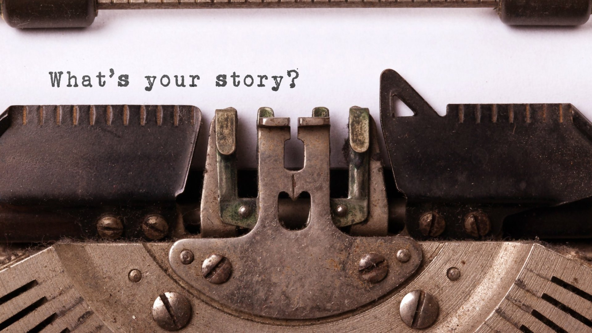 Why Your Story is the Secret to Your Success