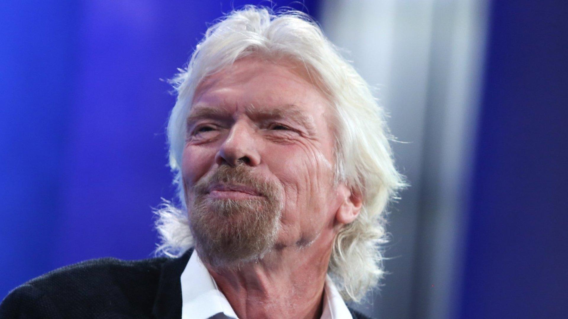 Billionaire entrepreneur Sir Richard Branson, founder of Virgin Group.
