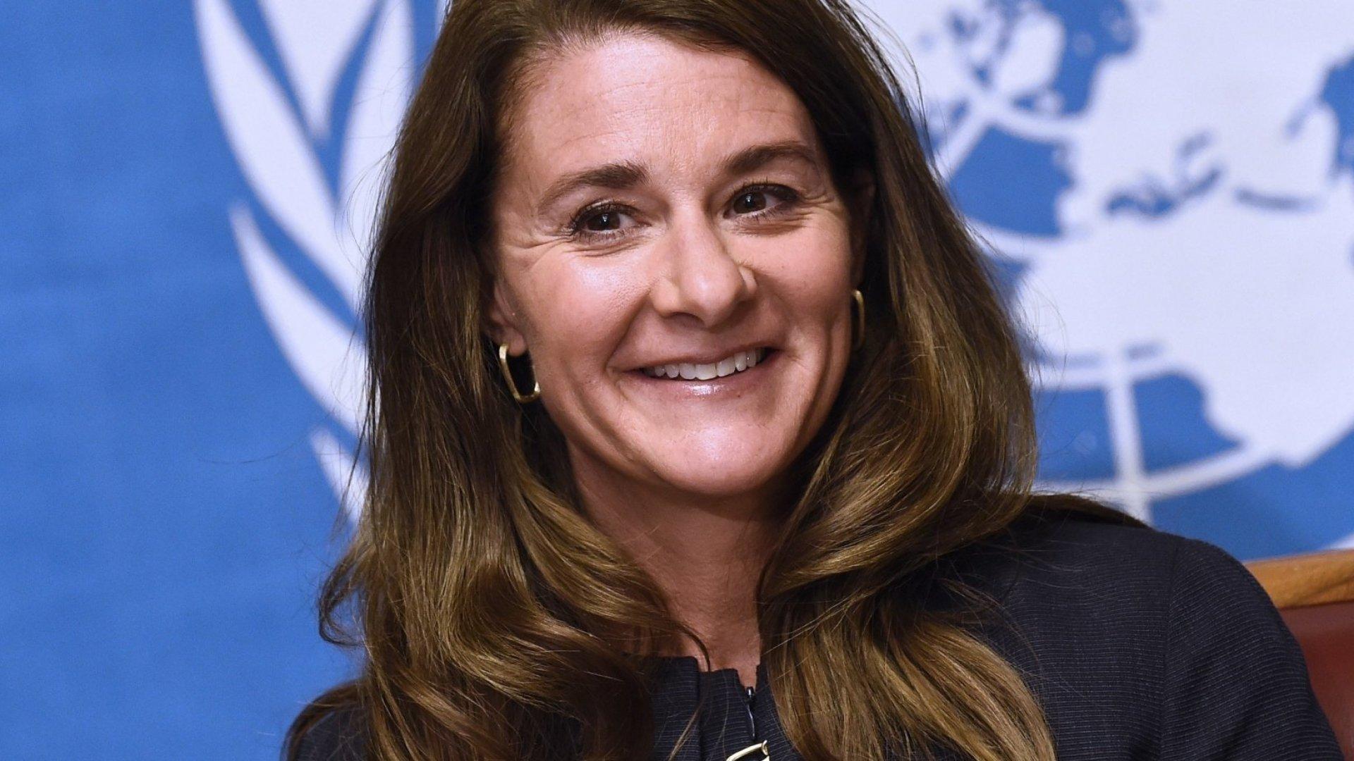 Philanthropist Melinda Gates.