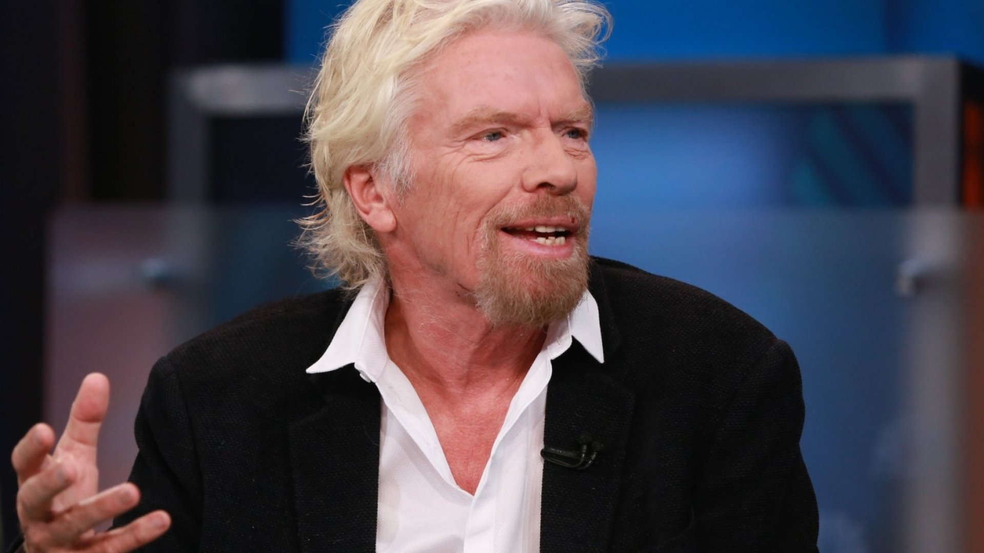 Ready for orbit, or at least getting there: Richard Branson