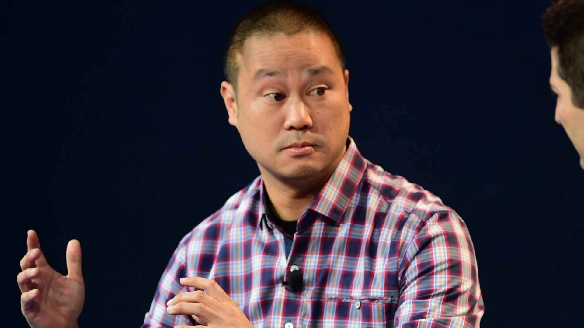 Tony Hsieh, a good questioner.