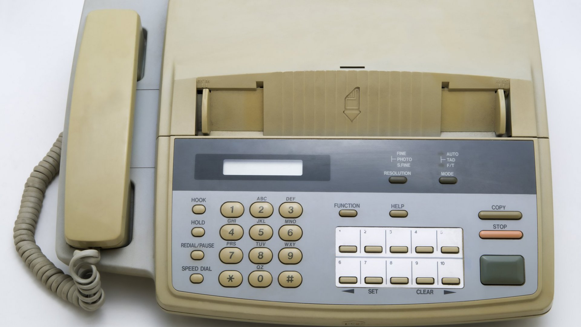 If you still use a fax think what that says about your business?