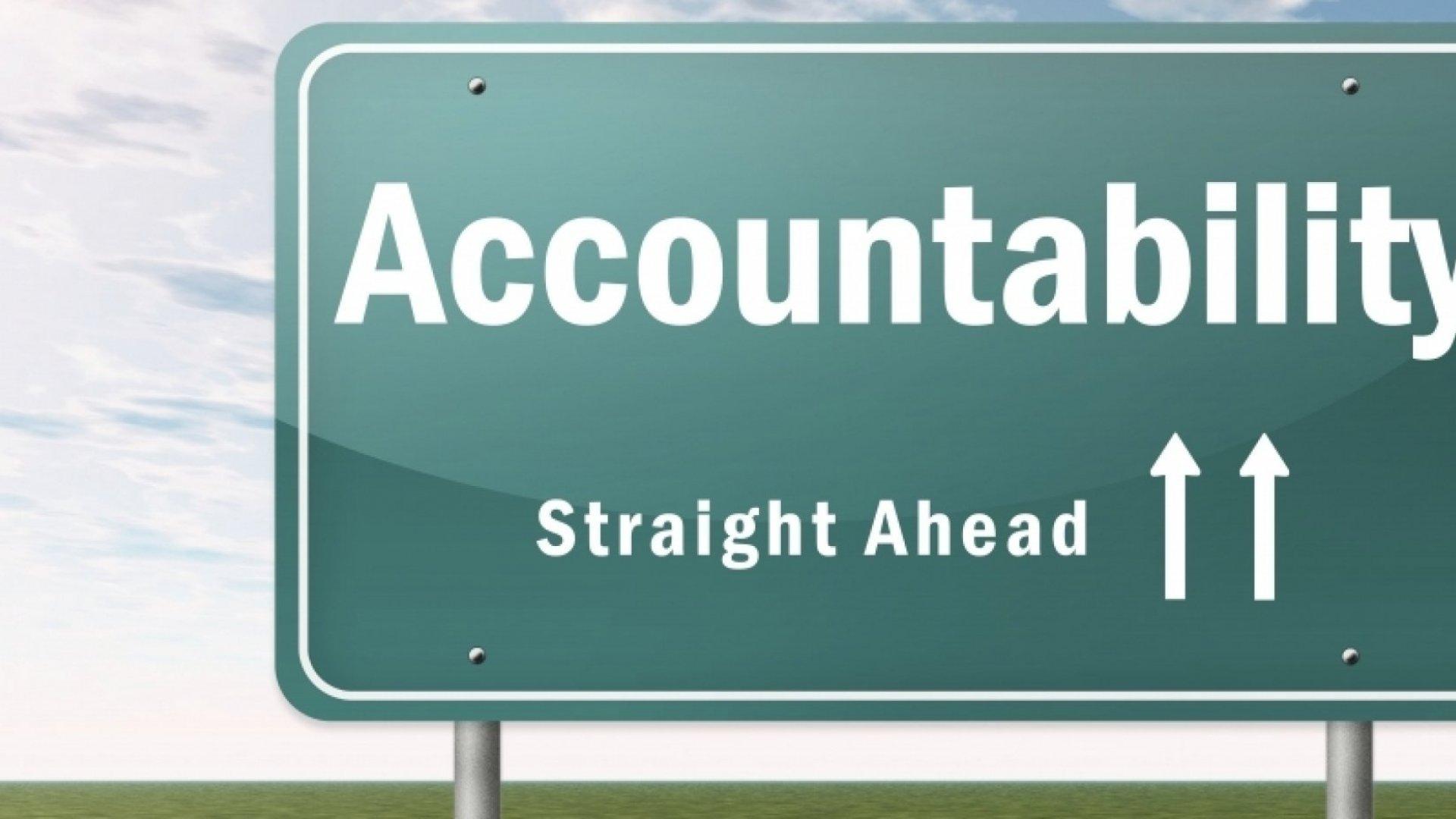 Why Accountability Should Be Everyone's Job
