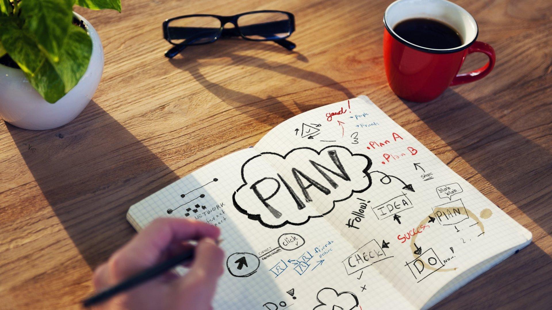 Bad ideas help us plan