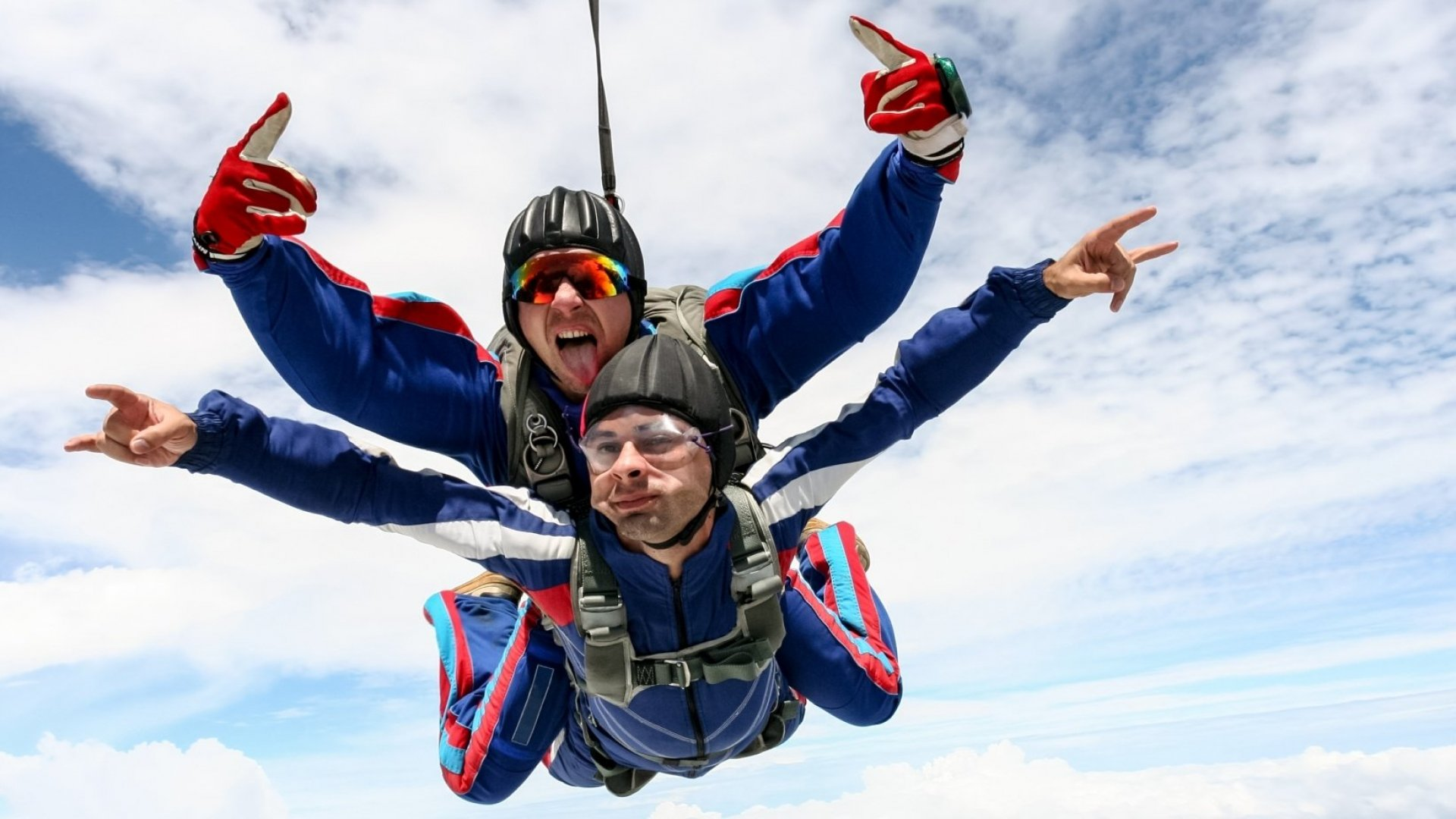 Want to Give Your Brain a Boost? Go Jump Out of a Plane