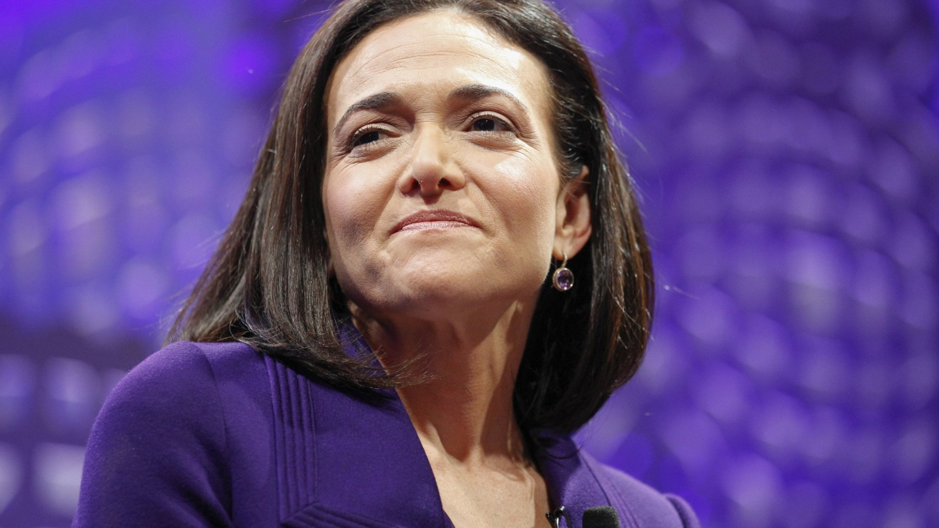 Why Sheryl Sandberg Thinks You Should Cry at Work