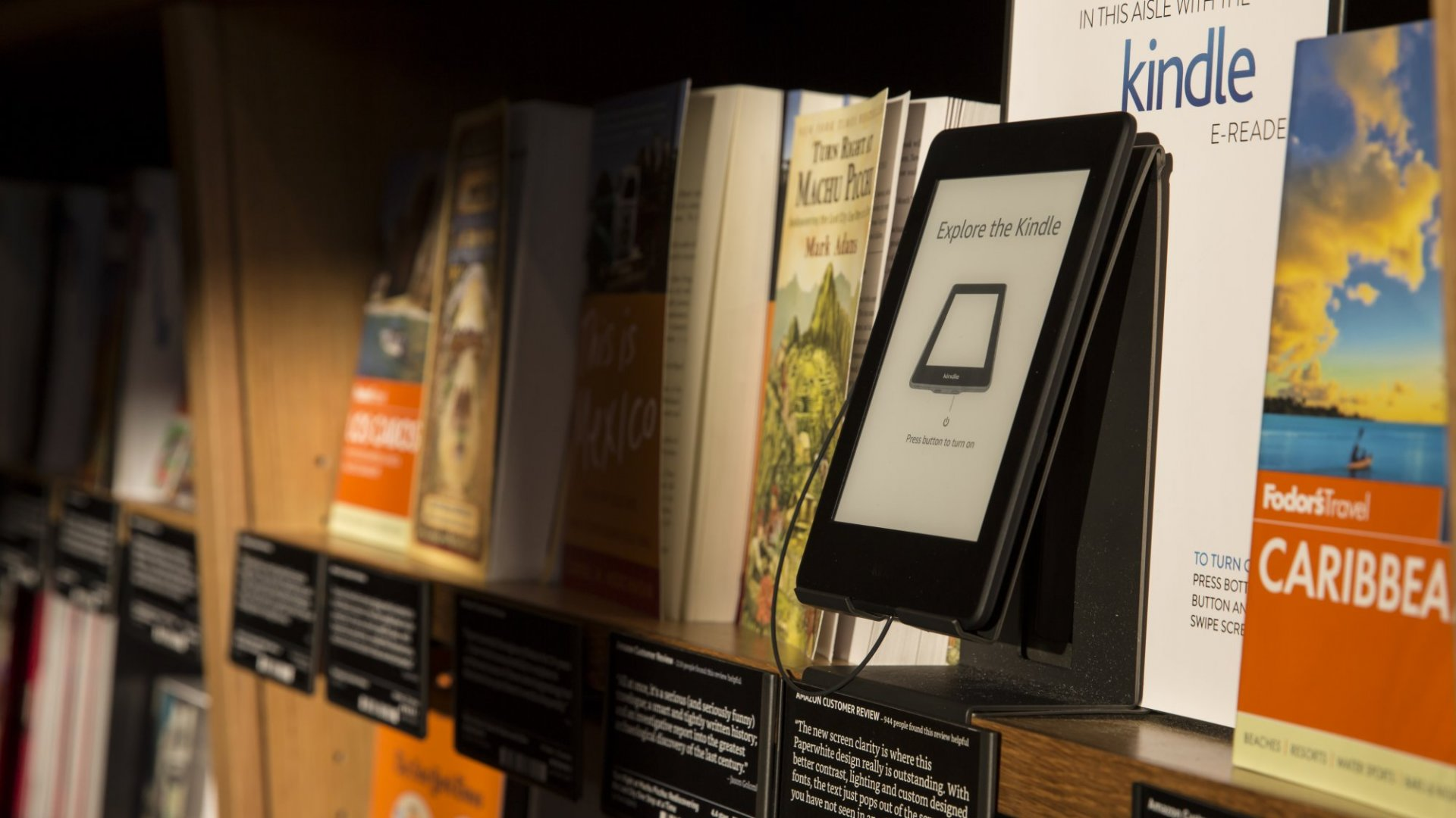 Amazon's New NYC Bookstore Is Just a Small Step Toward World Domination