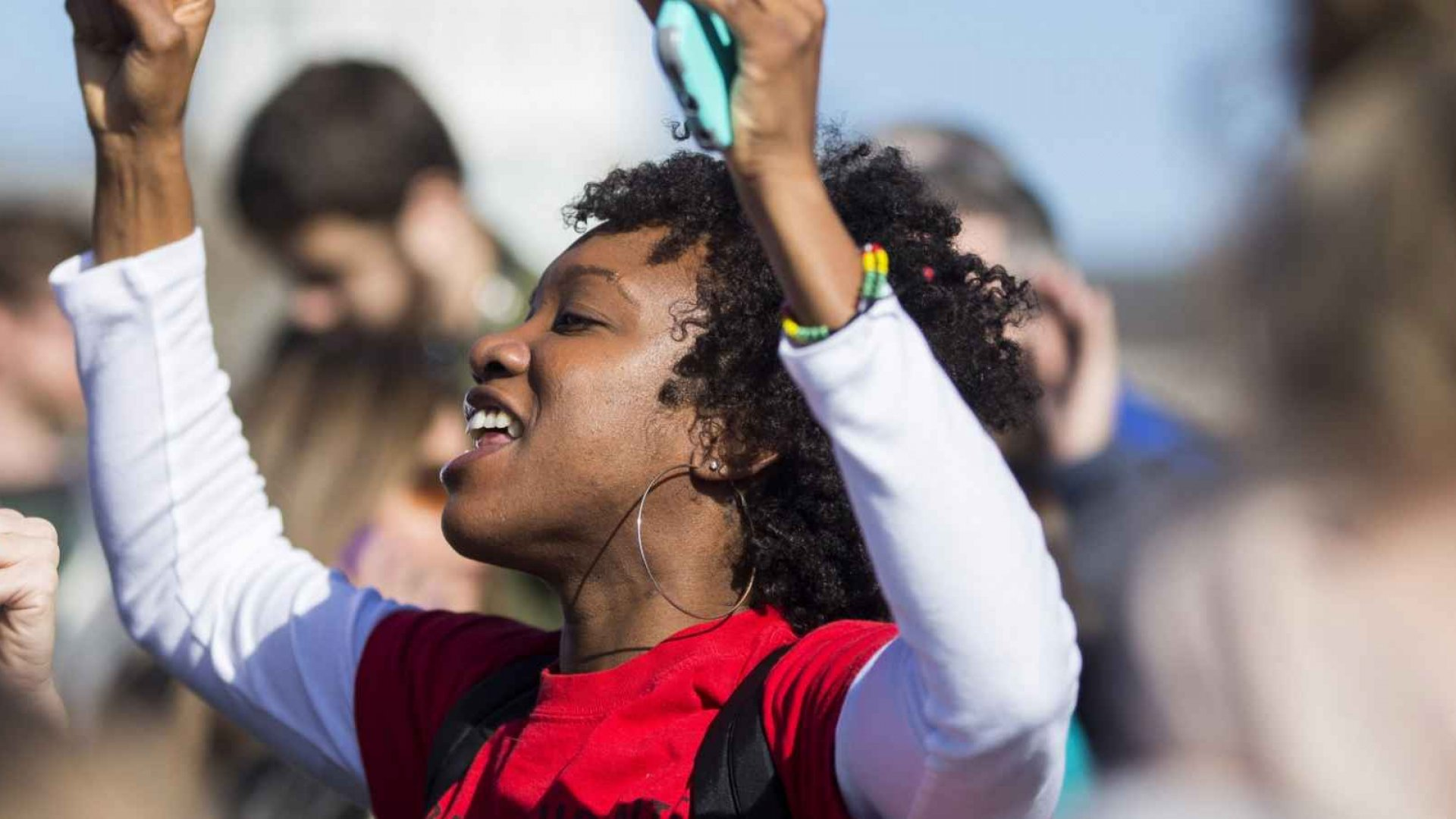 The announcement of University of Missouri president Tim Wolfe's resignation caused jubilation among protesting black students.
