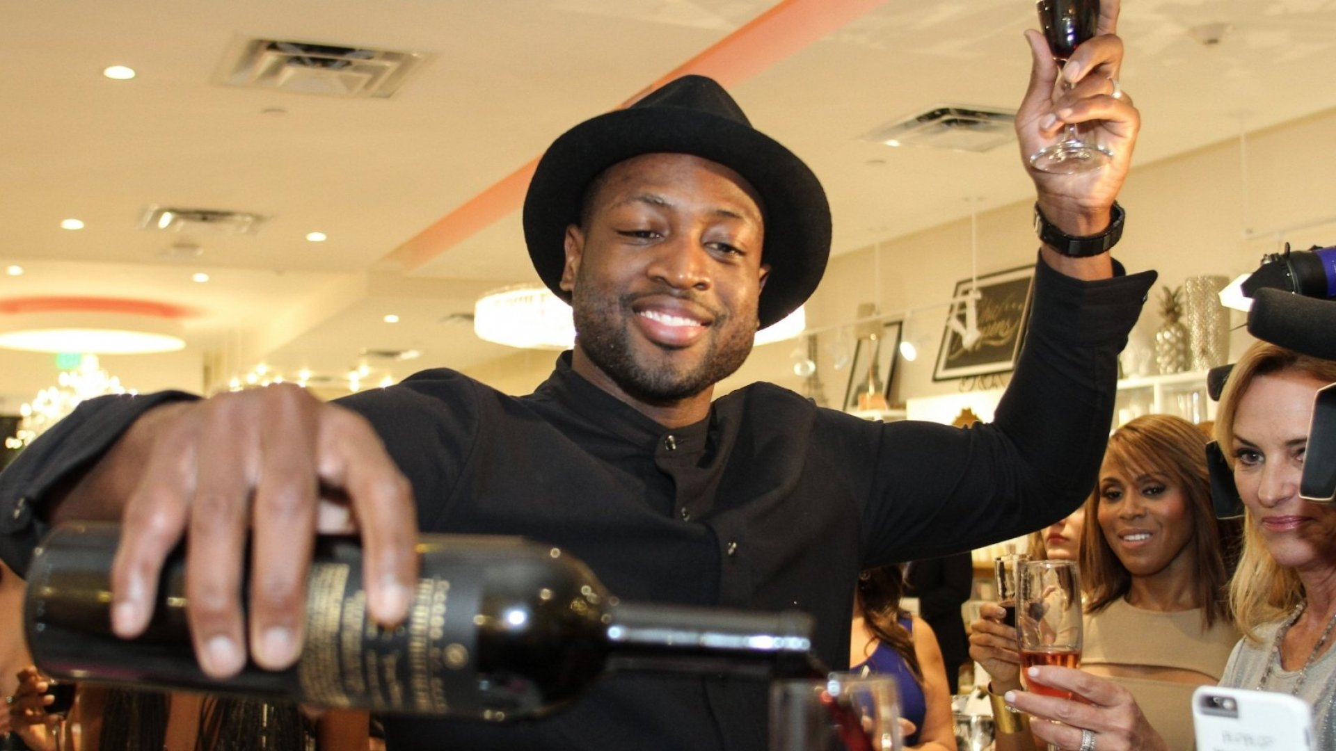 NBA Star Dwyane Wade on How He's Turned Socks, Bow Ties, and Wine Into Serious Side Hustles