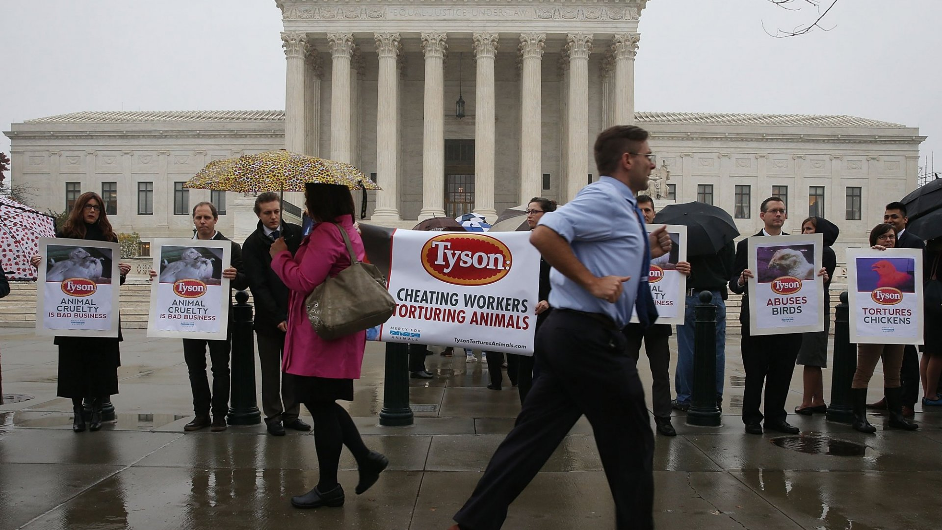 The Wild Class Action Suit Against Tyson Foods