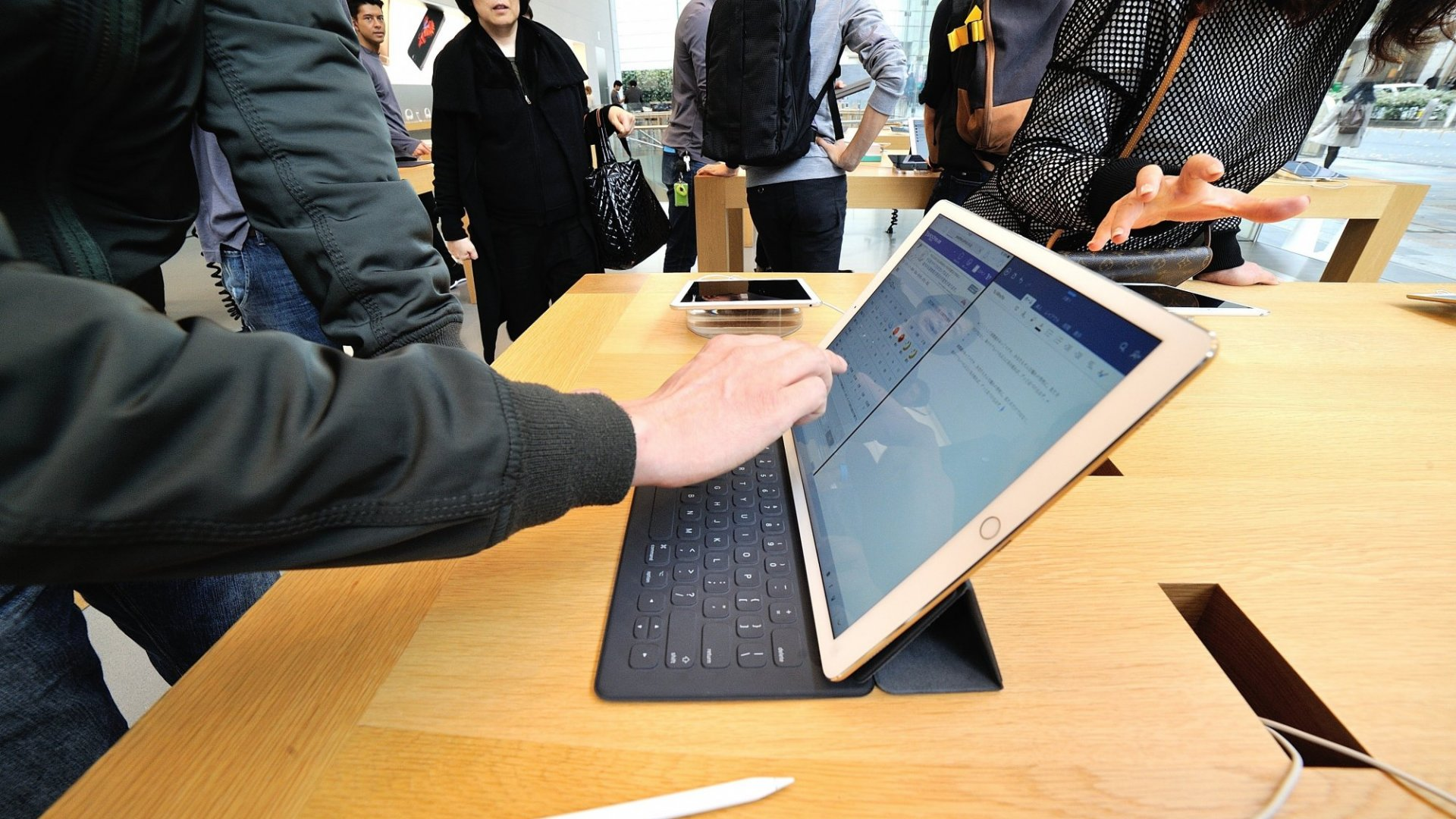 The iPad Pro is officially a hit.