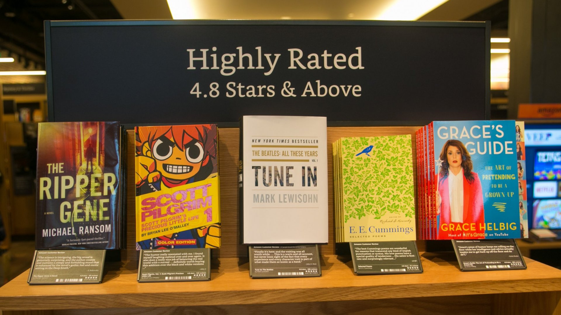 Amazon Just Opened Another Brick and Mortar Book Store. The World Shrugged
