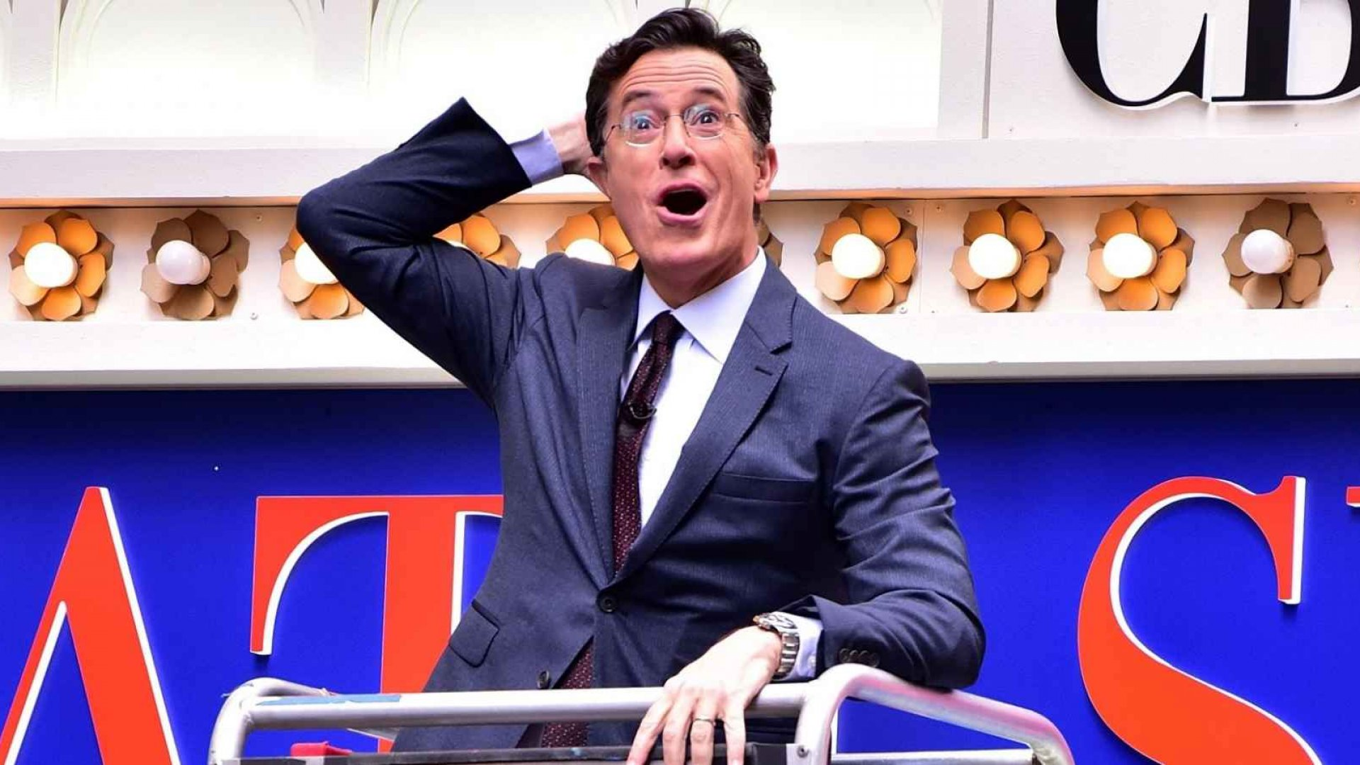 Thanks to crowdsourcing, there's a treadmill on the International Space Station named after Late Show host Stephen Colbert.