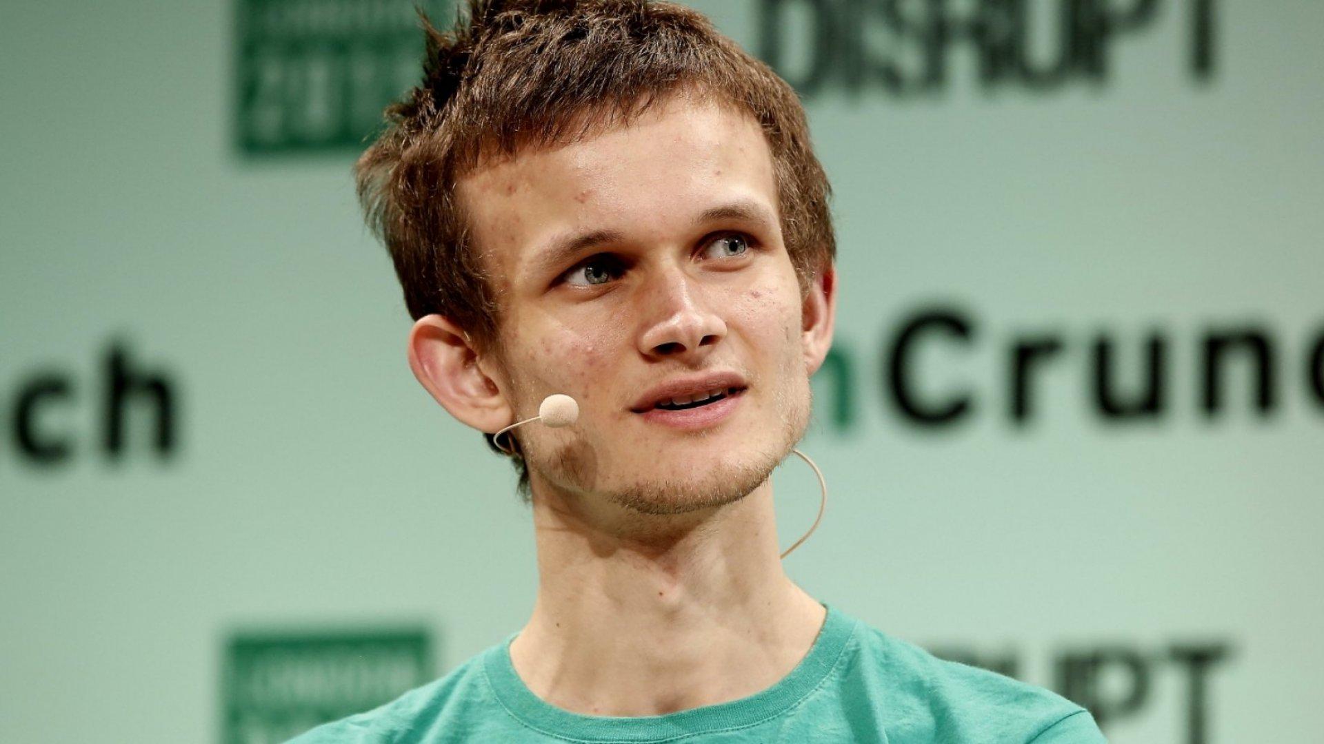 Ethereum Founder Vitalik Buterin.