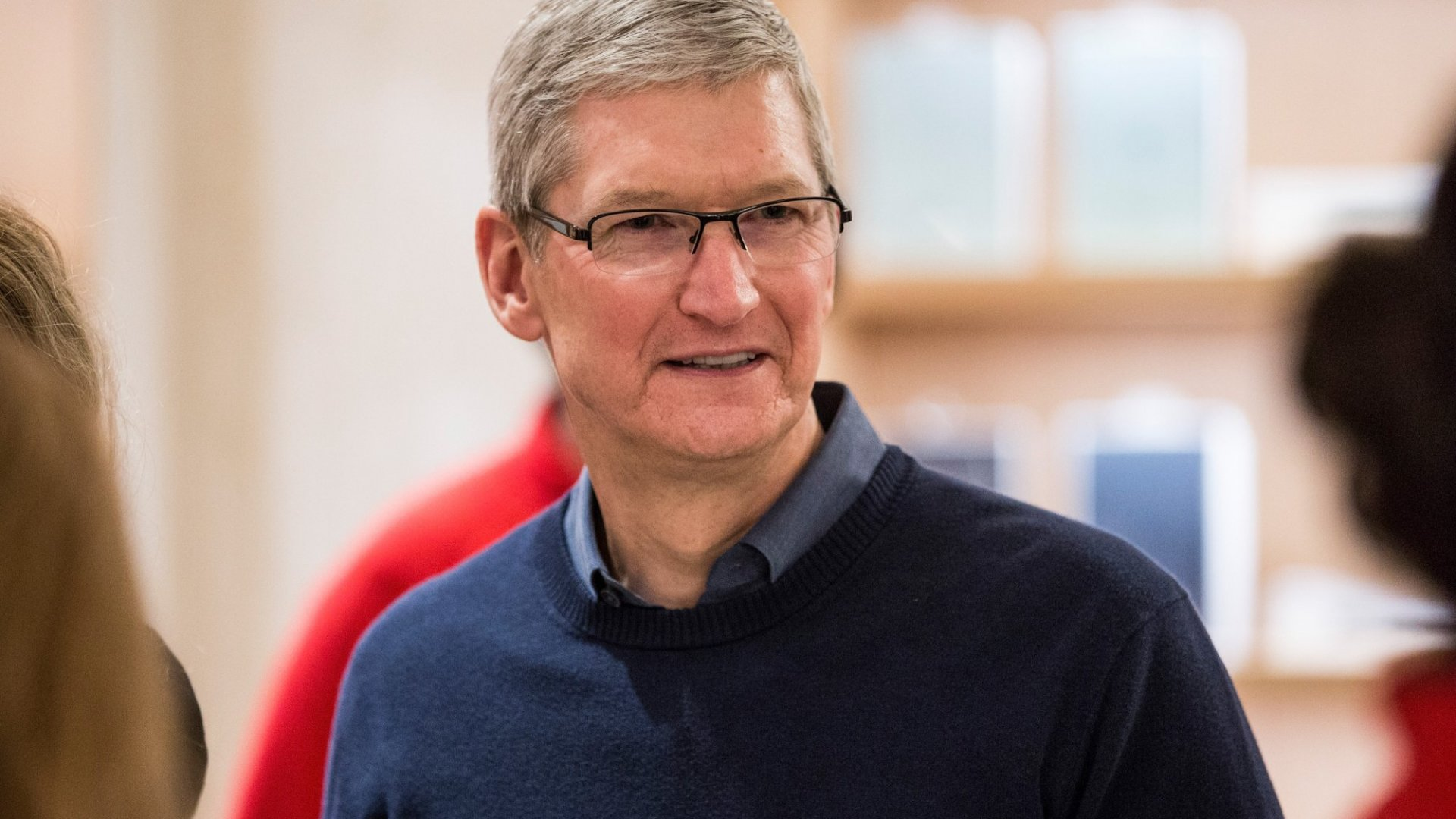 YOu might see Tim Cook on C-SPAN