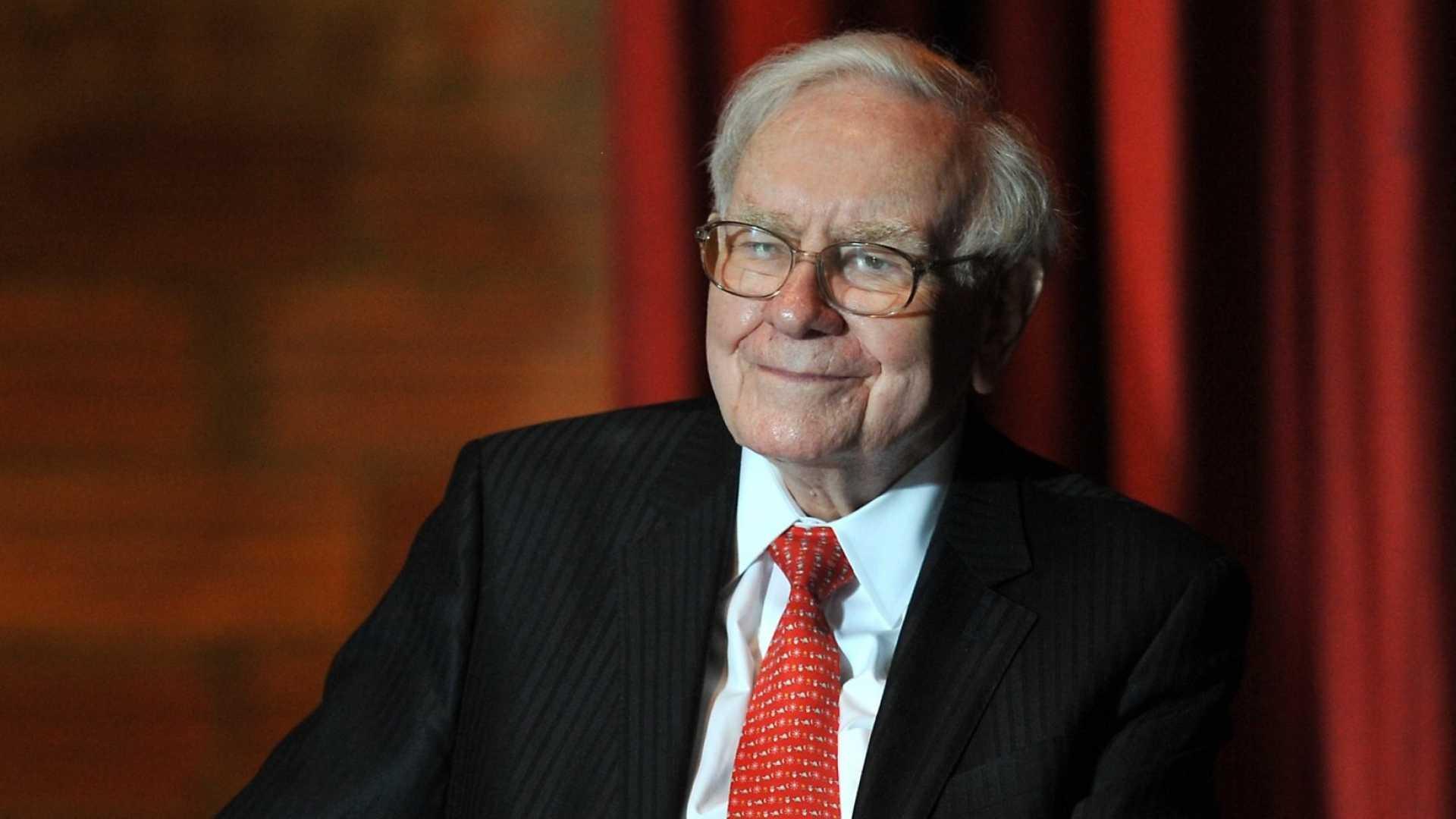 Billionaire Businessman Warren Buffett