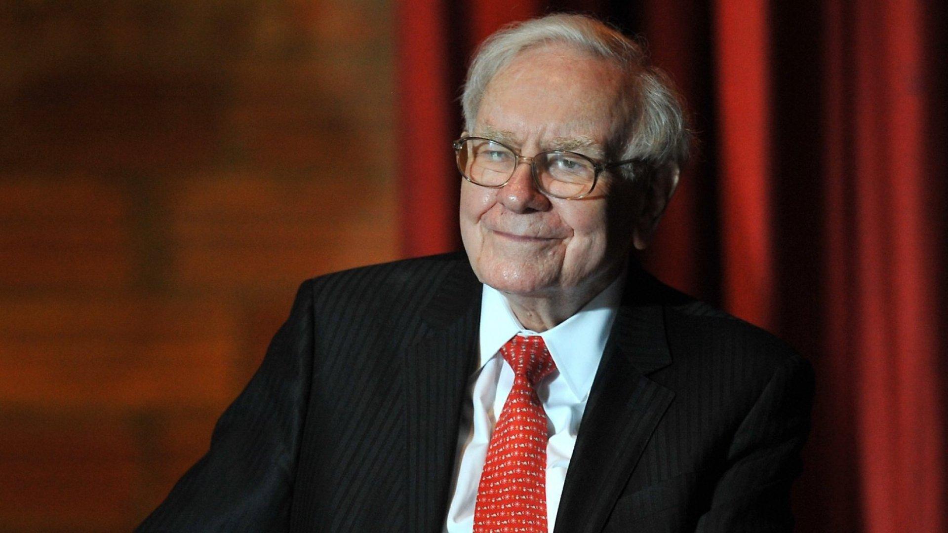 Billionaire businessman Warren Buffett.