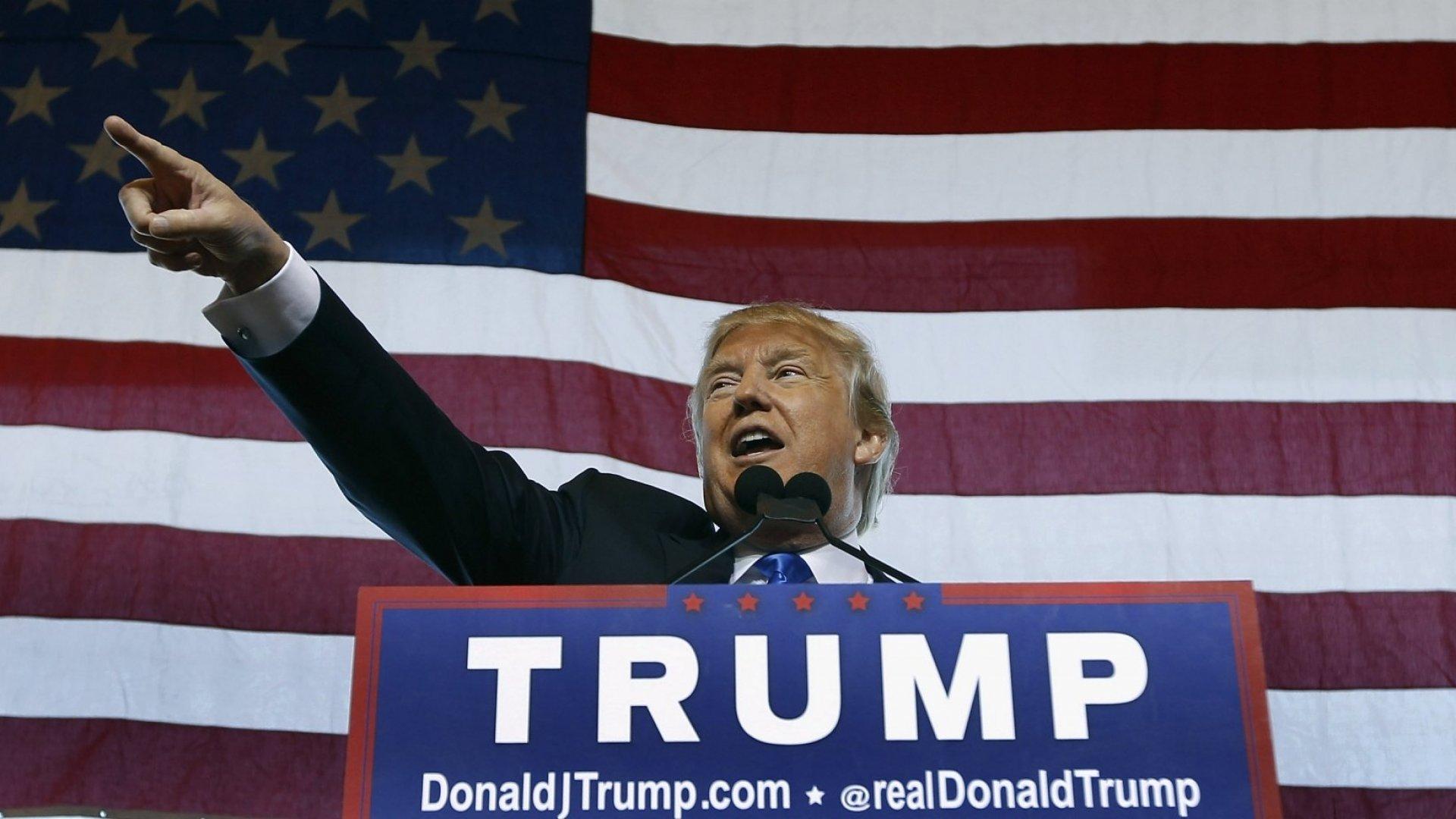 Donald Trump's Million-Dollar Secret to Public Speaking Success