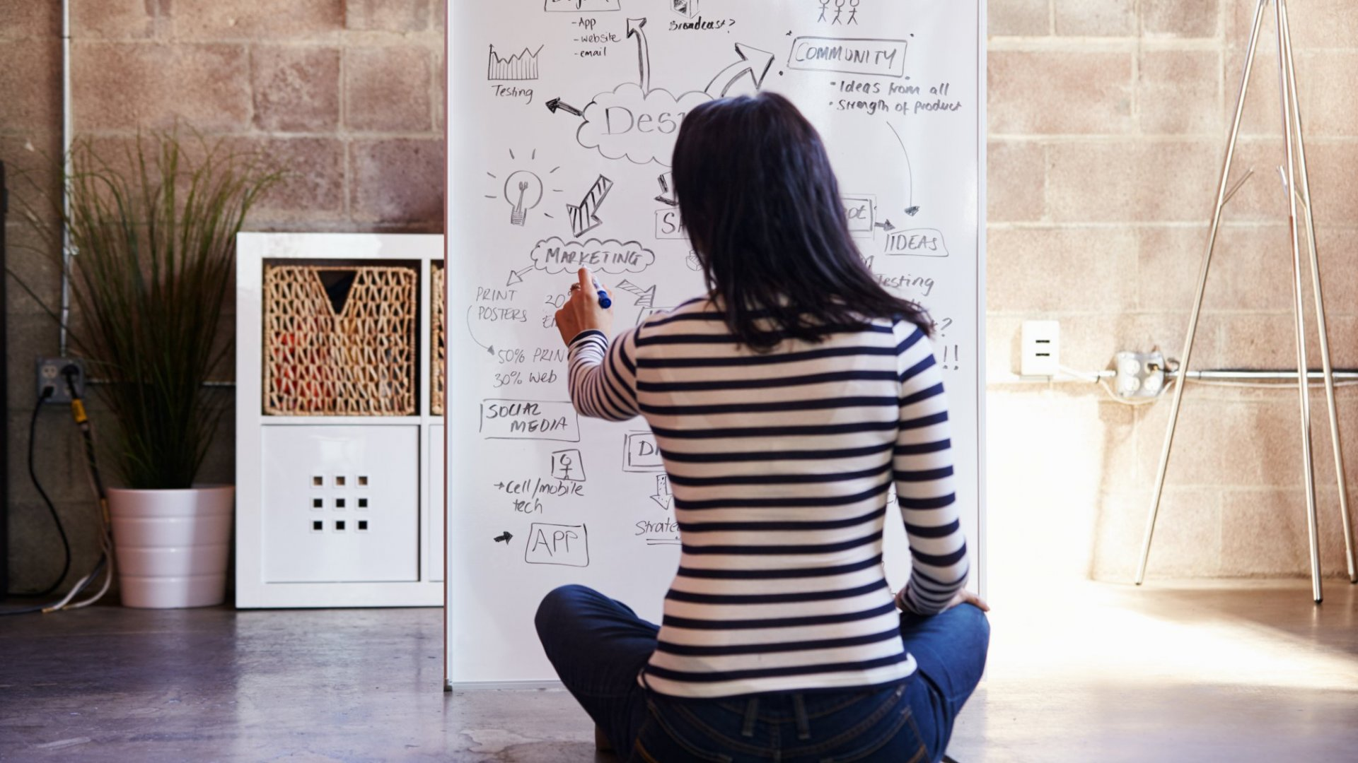 Here's How to Be a Master of Brainstorming