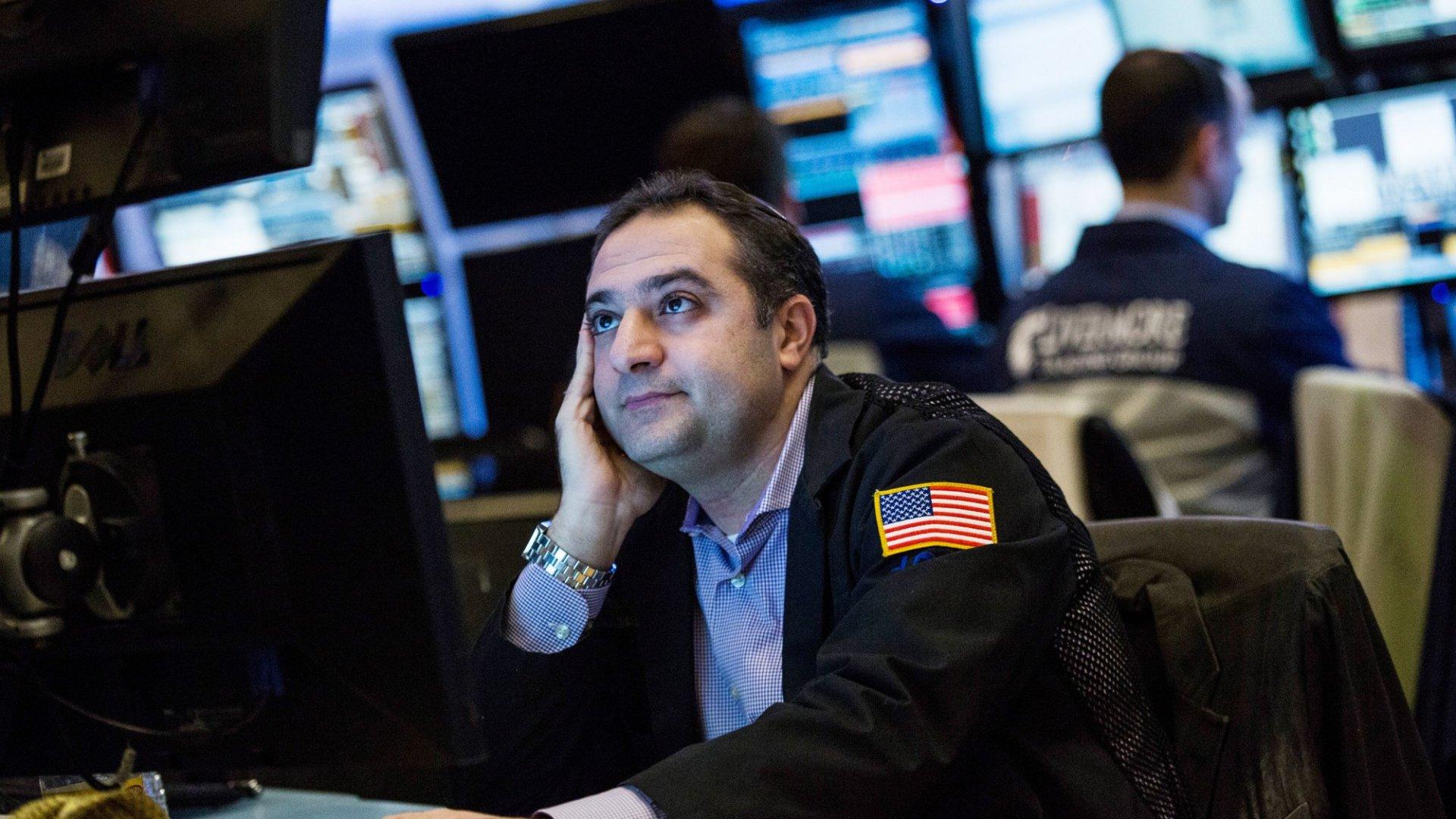 U.S. Stocks Sink on Jitters Over North Korea, China Weakness