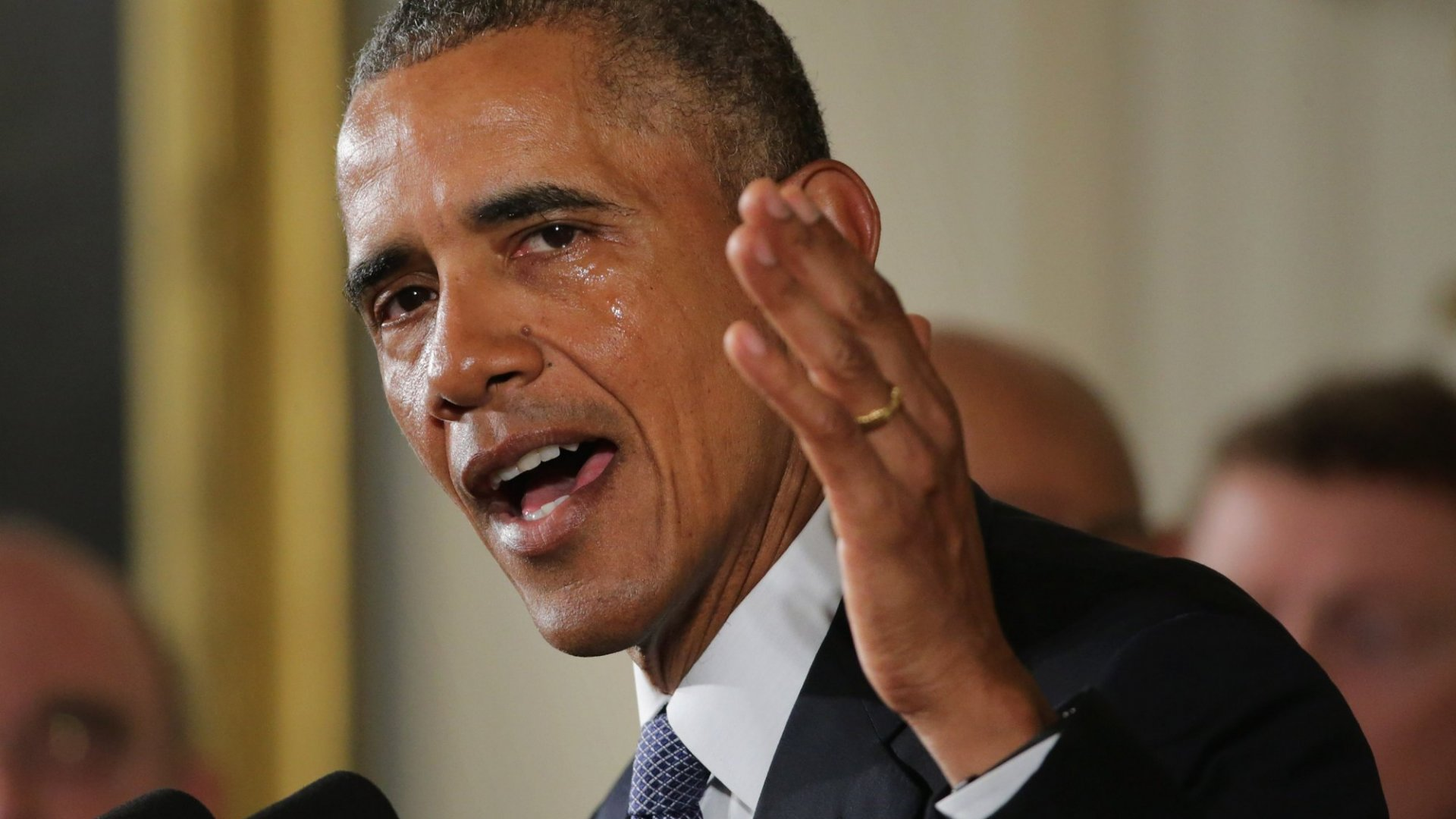 When It's OK for Obama (or Any Leader) to Cry