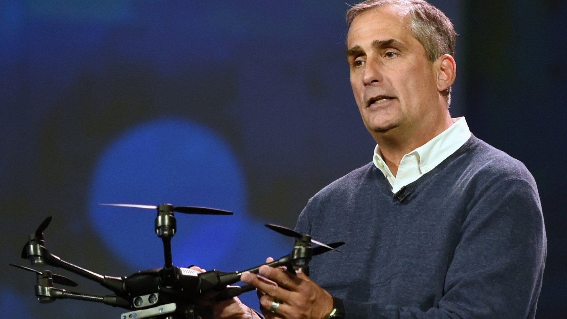 A Look at Intel's New Drone That Can Follow You in Real-Time