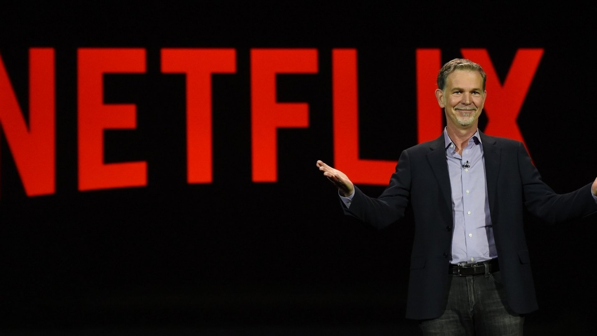Netflix CEO Reed Hastings.