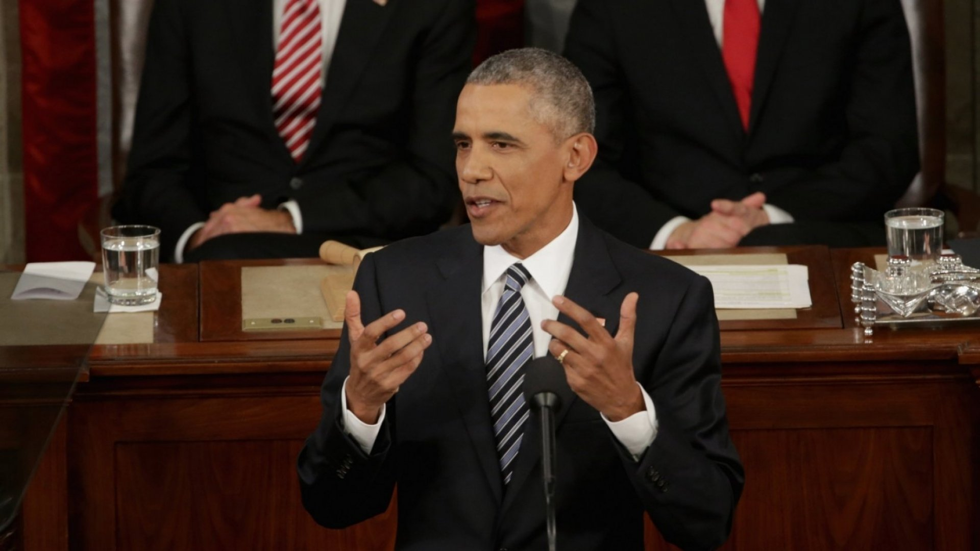 Want to Be a Brilliant Public Speaker? Take a Cue From One of President Obama's Quirks