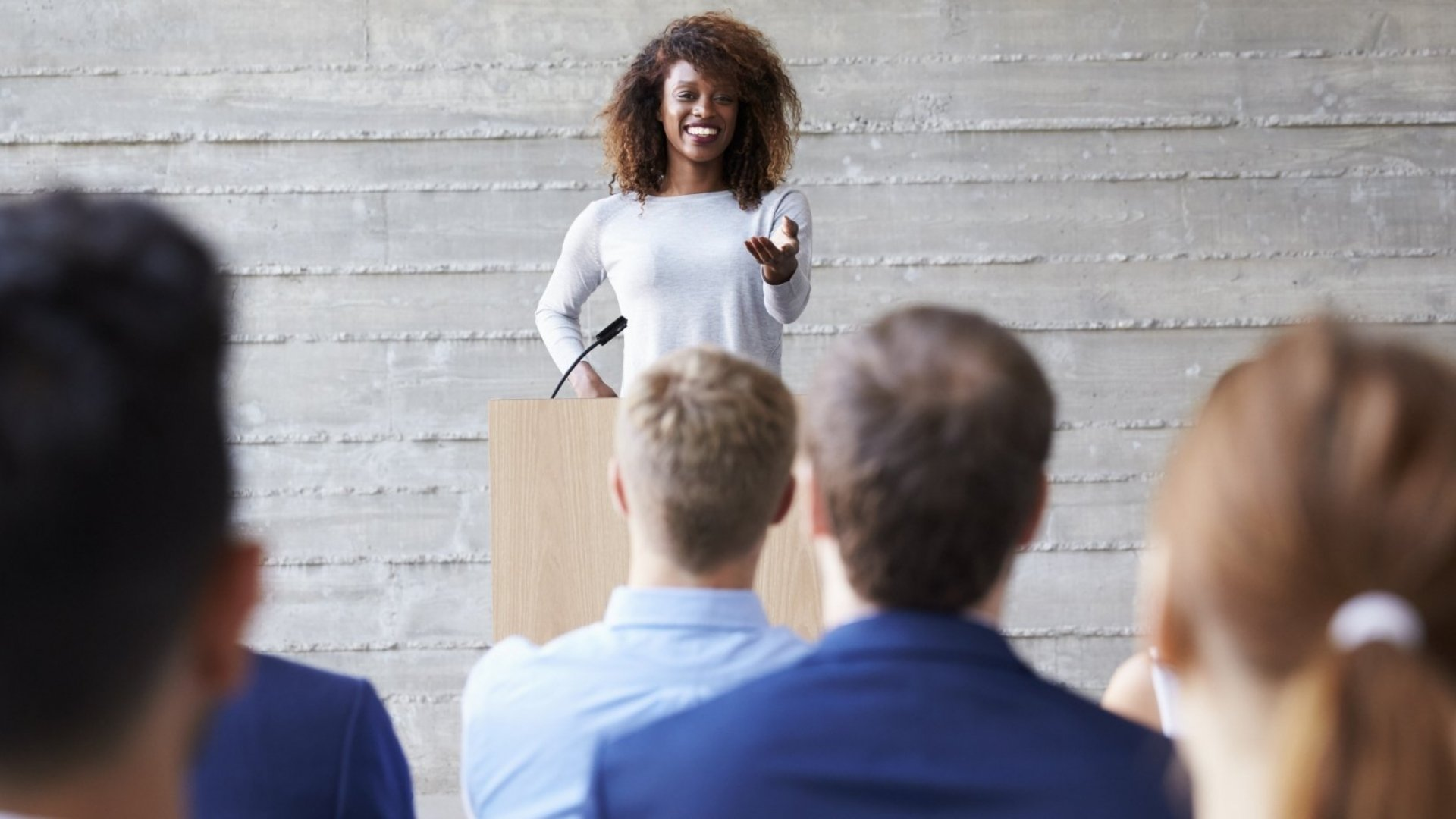 Public Speaking in Two Words: Be Direct