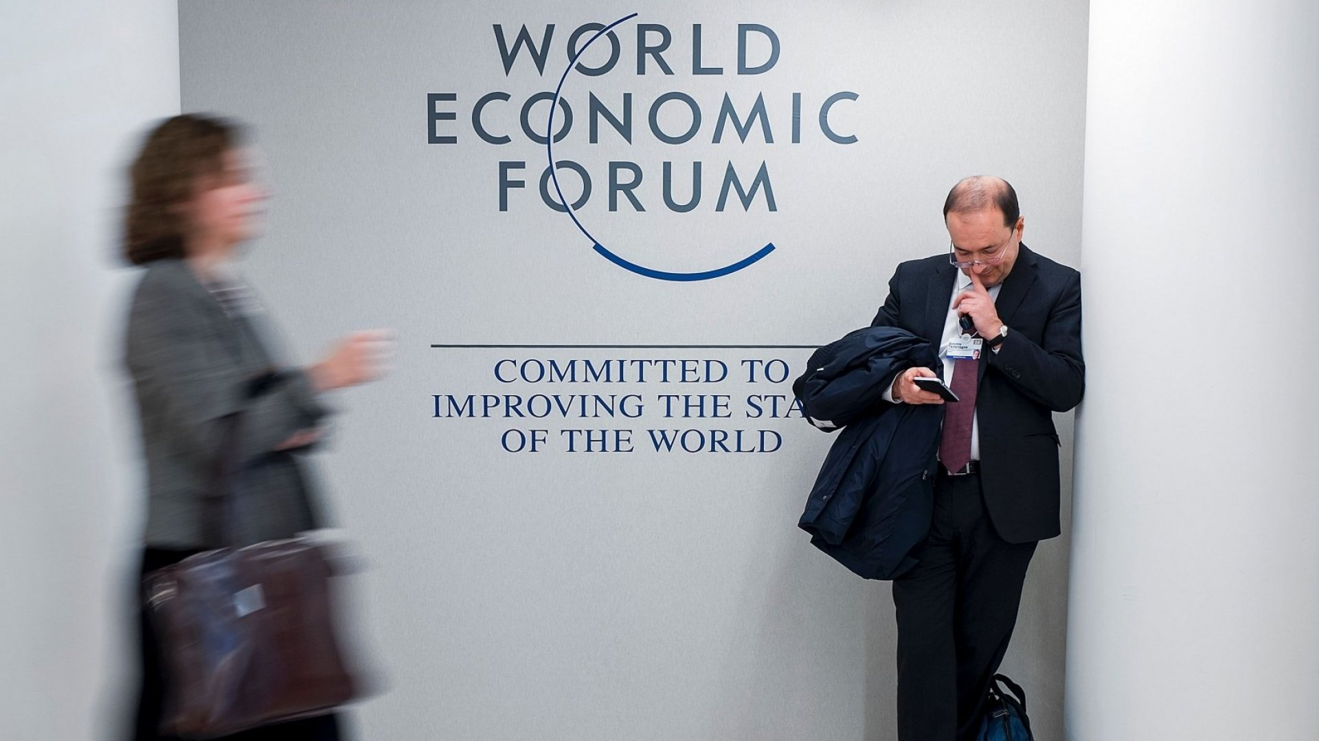 I Felt Like an Imposter at the World Economic Forum in Davos. Until I Didn't