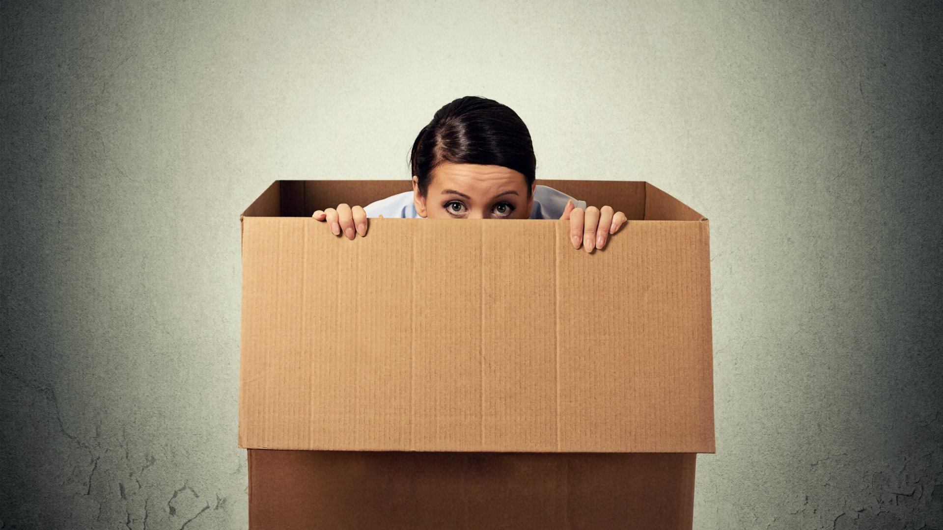 Are you hiding at home instead of getting out and facing the world?