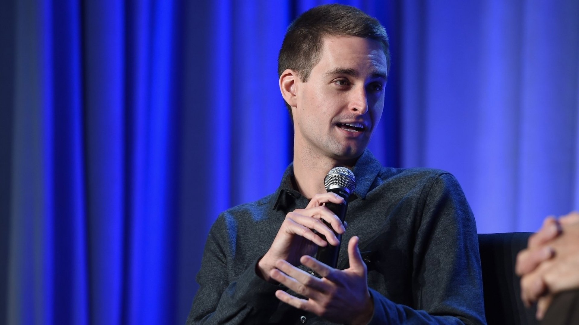 Often imitated, never duplicated: Snap Inc. founder Evan Spiegel
