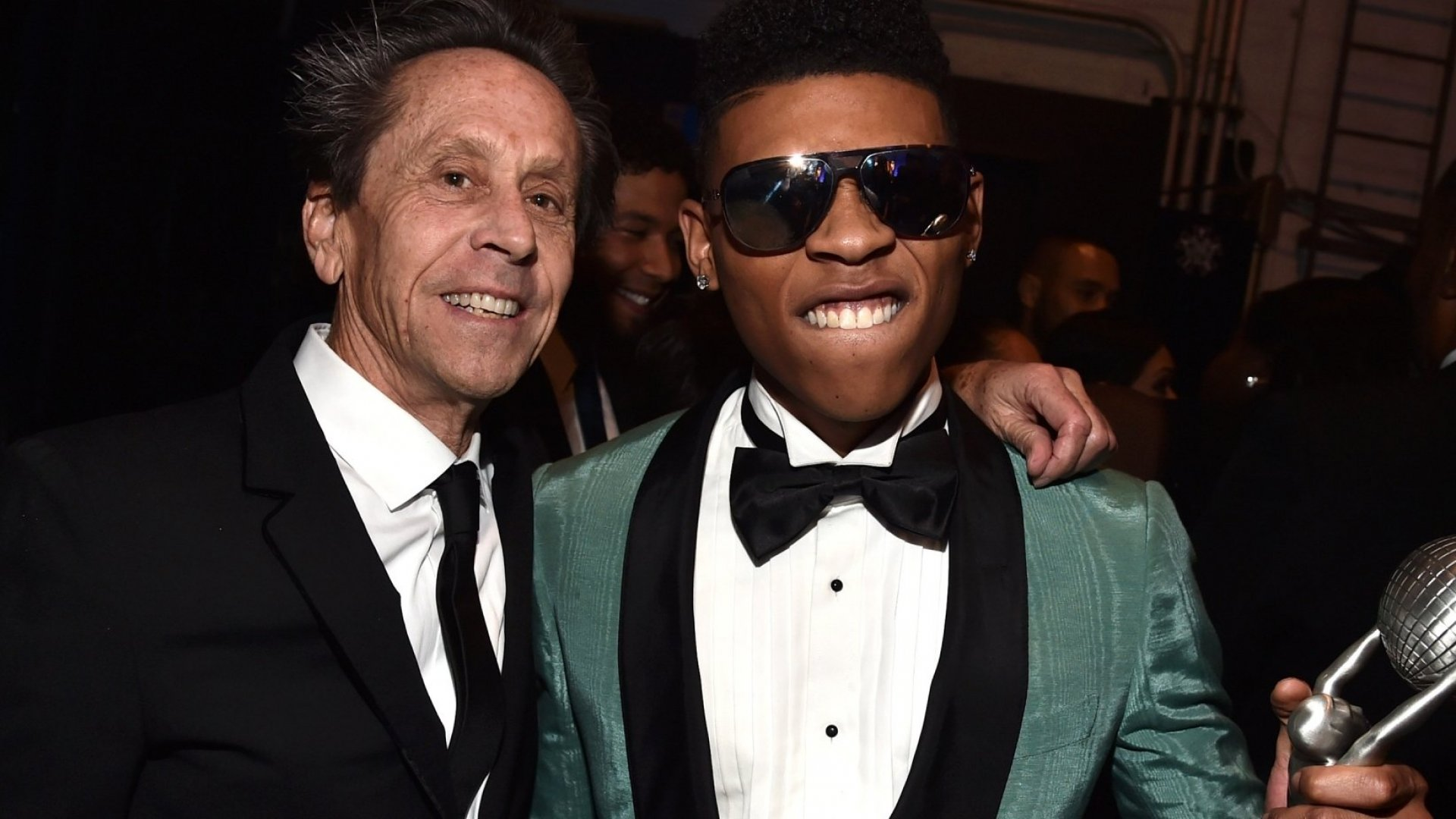 Brian Grazer and Bryshere Y. Gray.