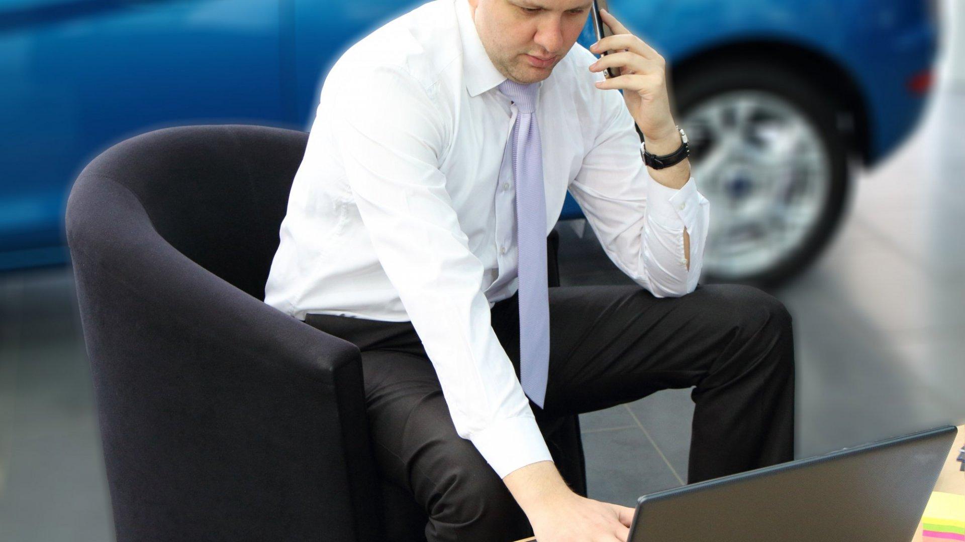 How A Tech Entrepreneur Launched A Company At A Lexus Dealership