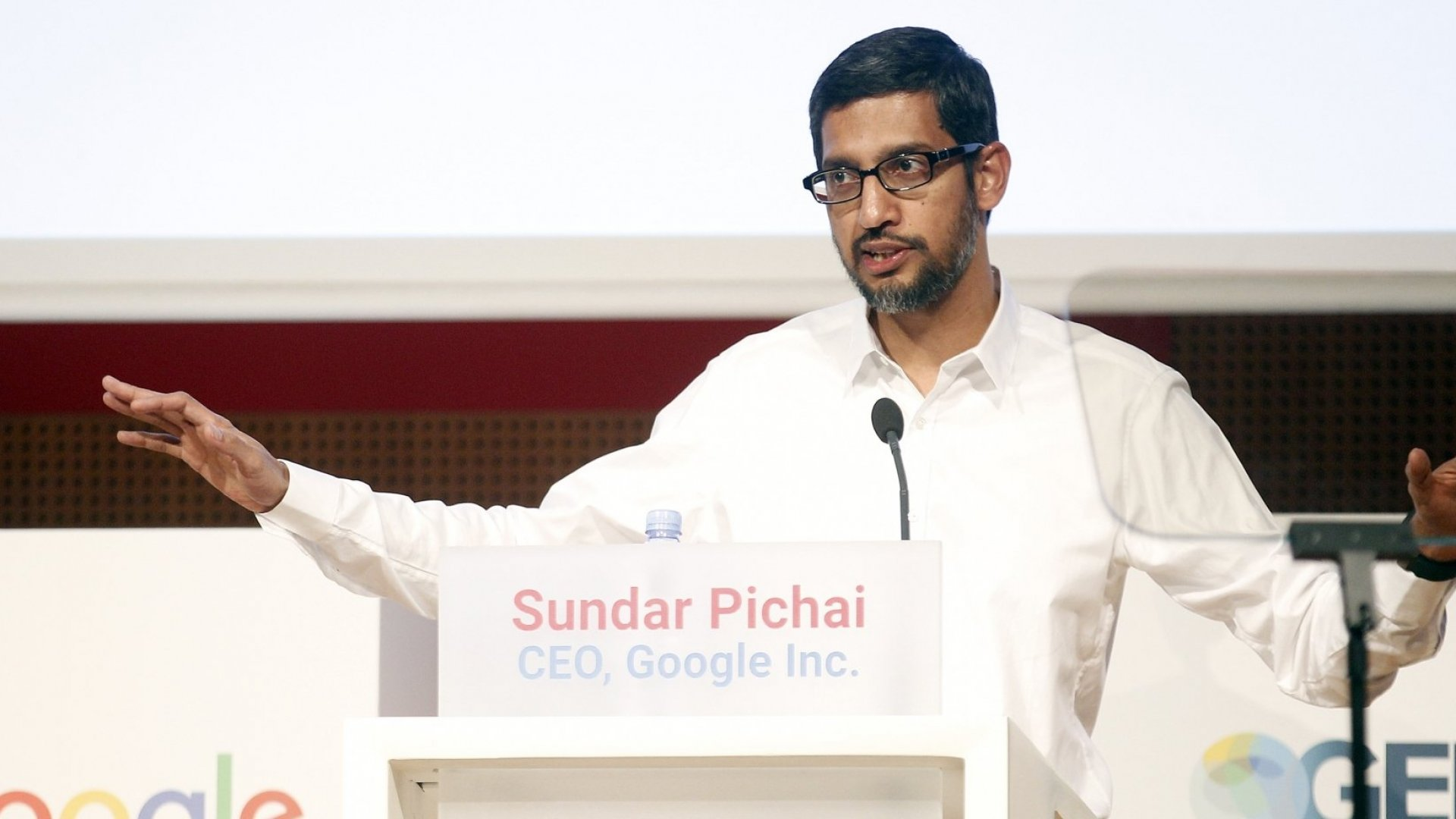 Sundar Pichai.