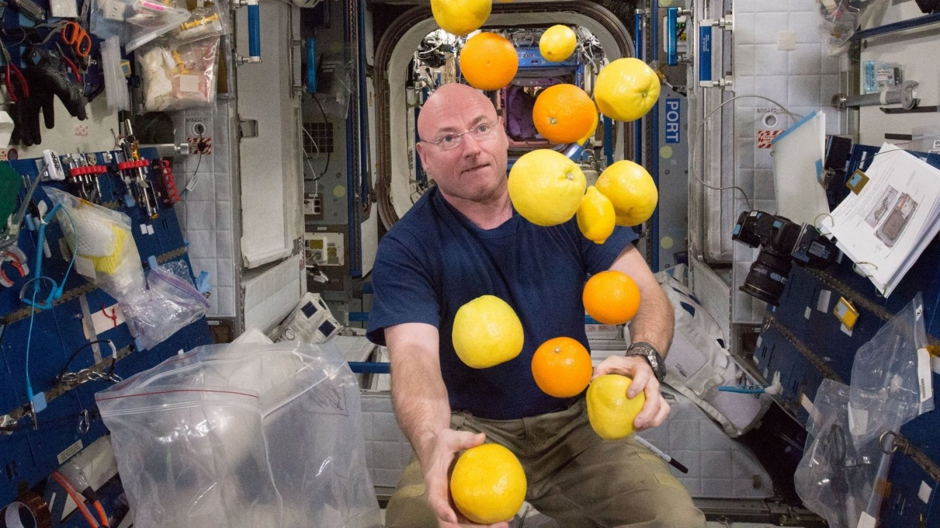 NASA Astronaut Scott Kelly Spent 340 Days in Space. Here Are His Best Tips for Handling Isolation