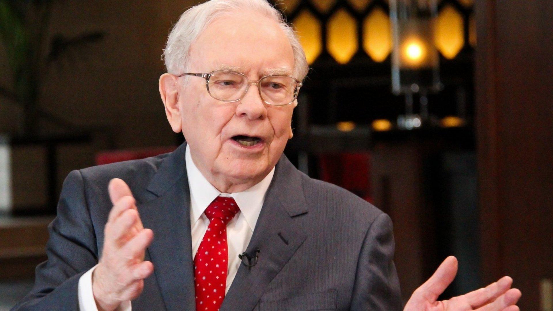 Warren Buffett Just Shared a Very Reassuring Message for Tough Times