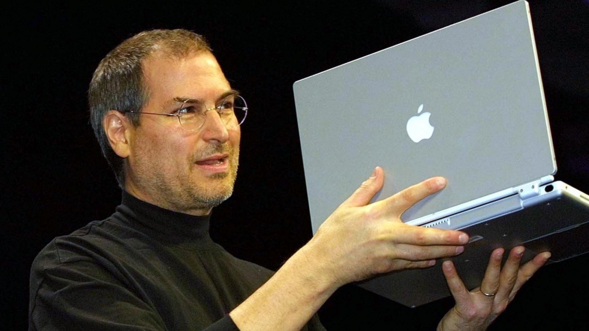 Steve Jobs, co-founder of Apple.