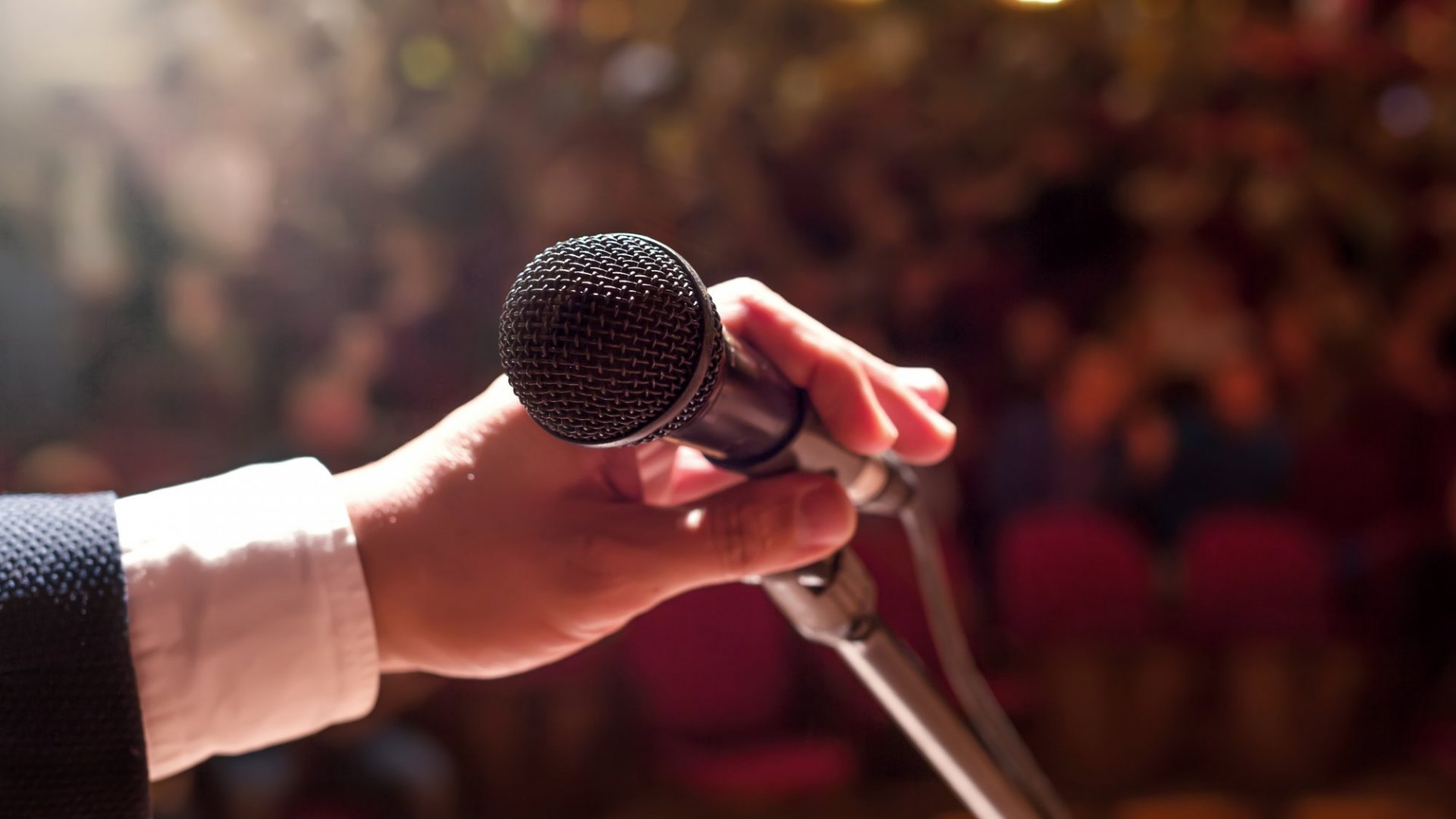 Great speakers are committed to making their next presentation their best presentation