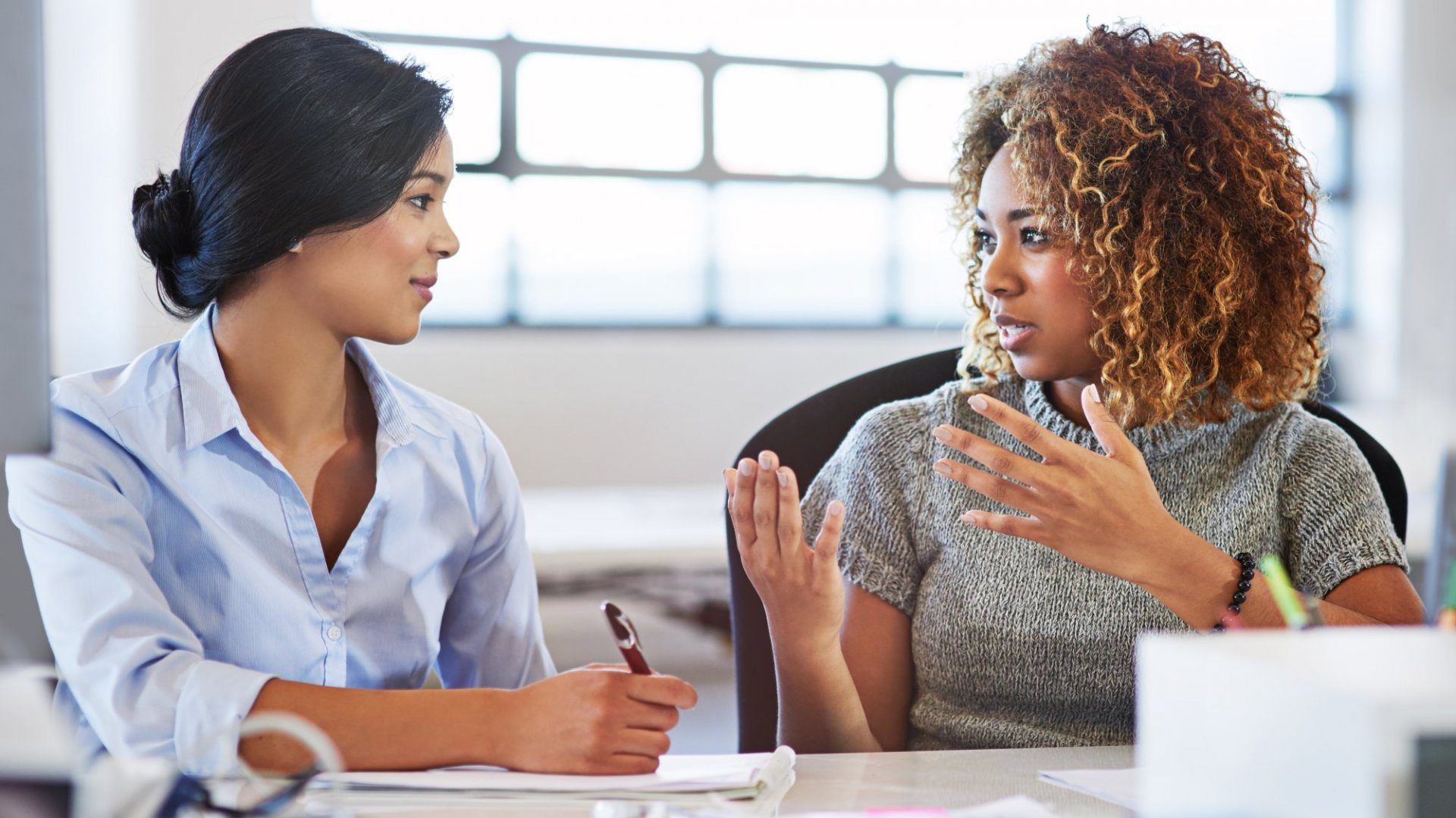 Divide Your Time Between Listening, Talking And Doing