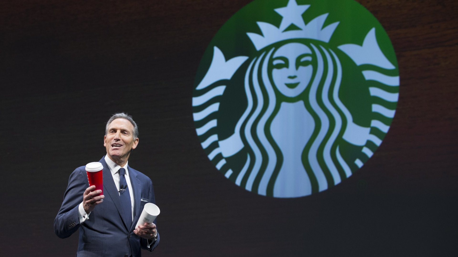 Starbucks's Howard Schultz has never been shy about his politics.