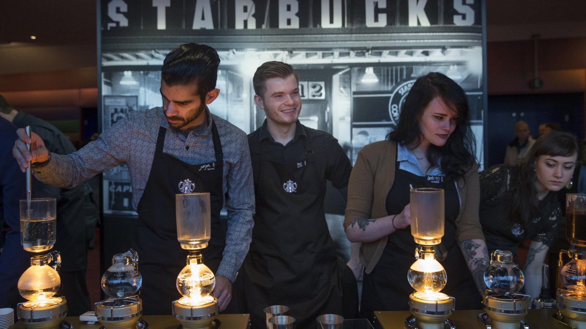 Workers at Starbucks and JP Morgan to Get Big Raises