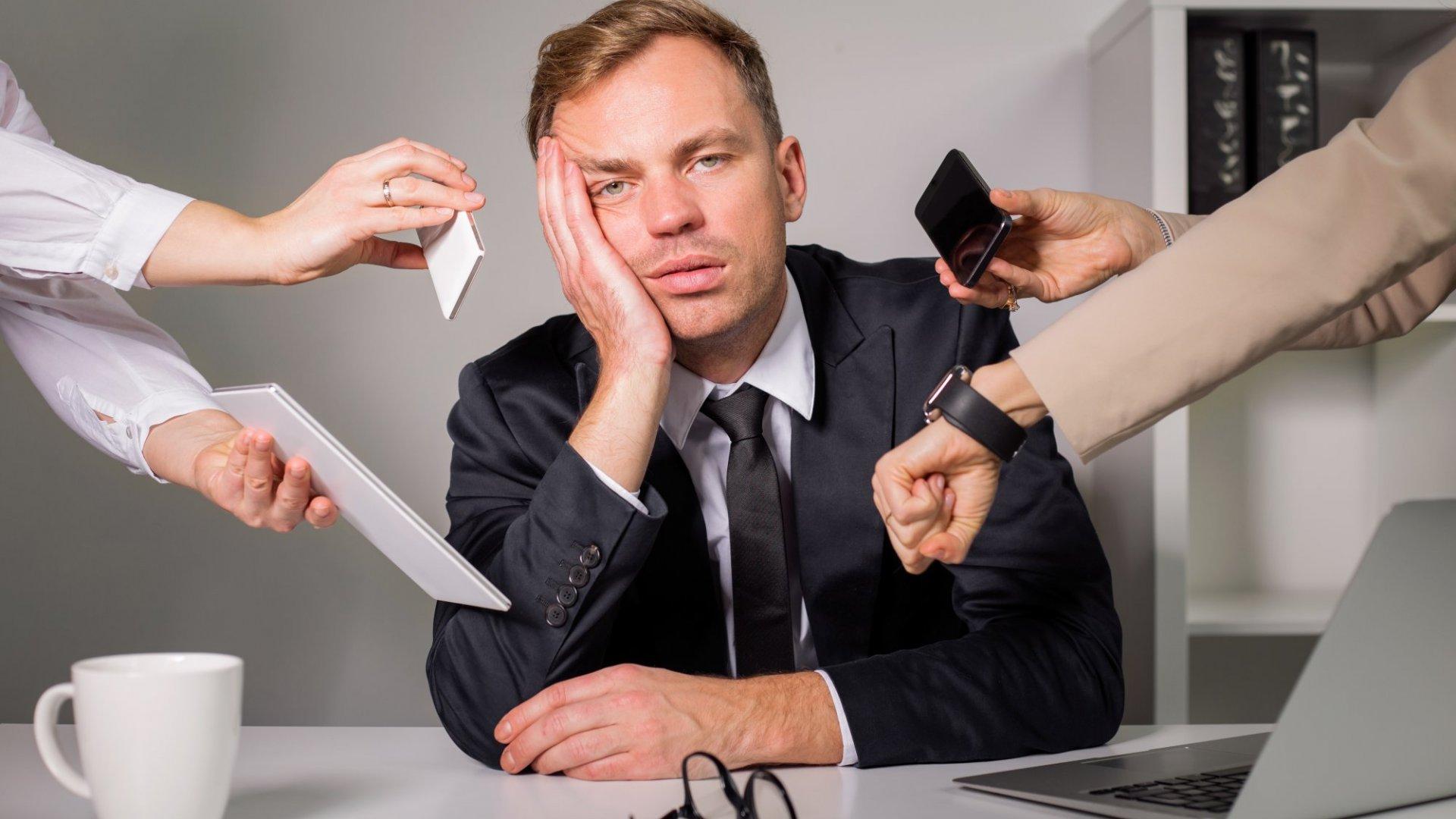 Job-Related Stress, Unhealthy Habits, and Work-Life Imbalance