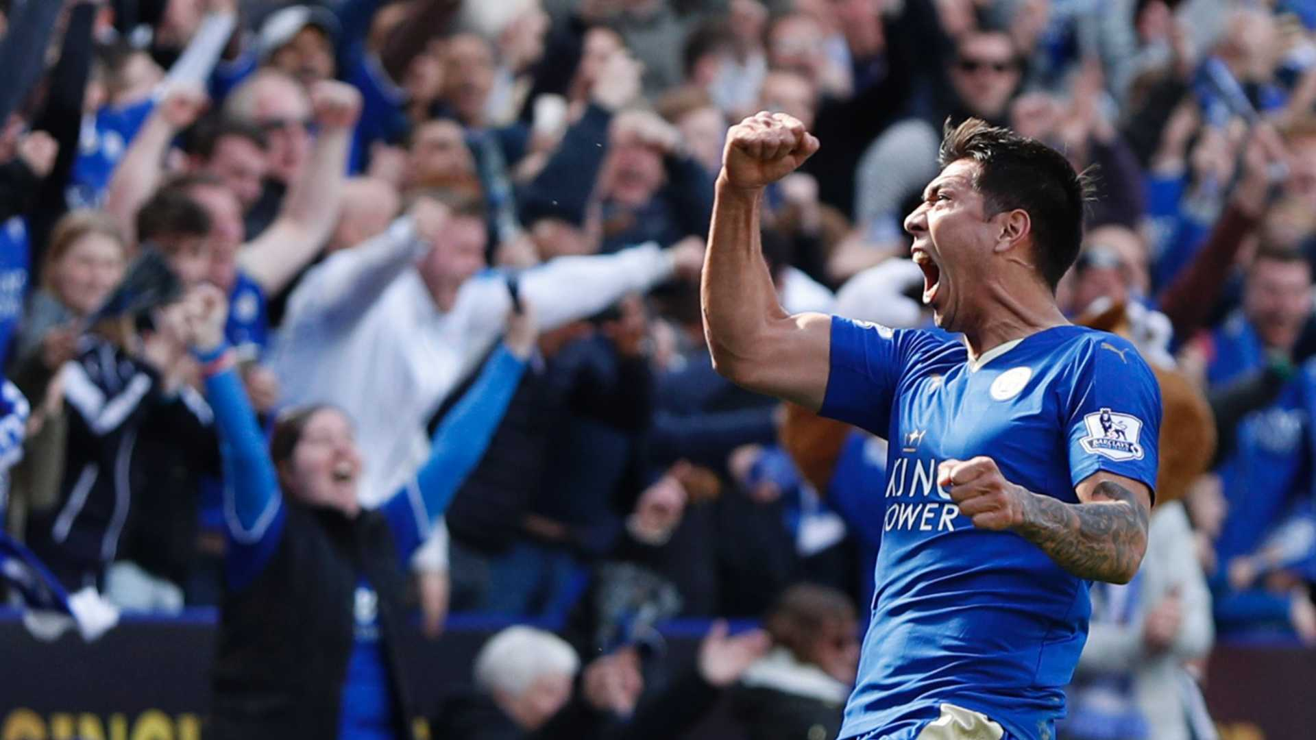 Leonardo Ulloa, an Argentinian who came to Leicester and won it all.