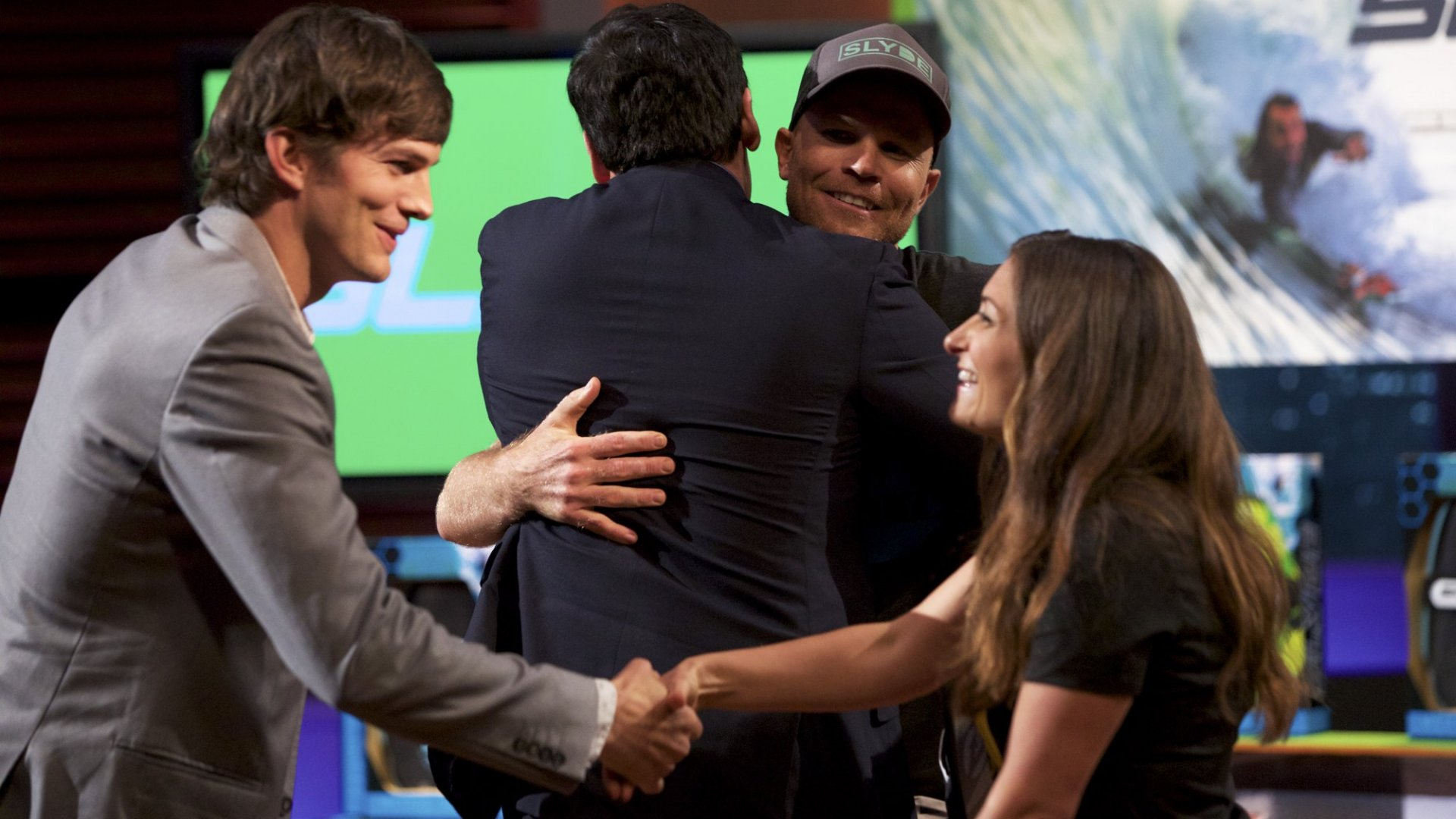 Here's What Happens When Mark Cuban And Ashton Kutcher Invest In A Company On Shark Tank