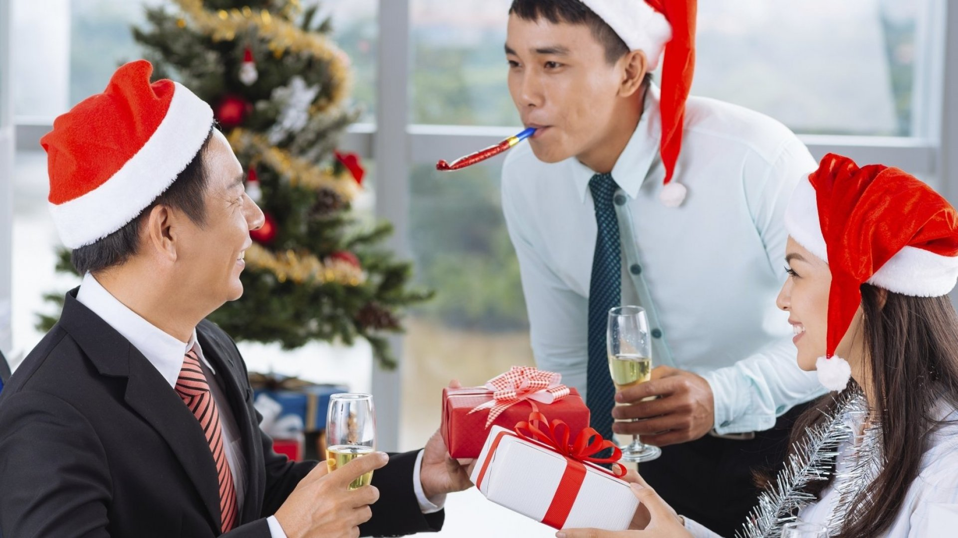 How to Win Your Next Promotion at the Office Holiday Party