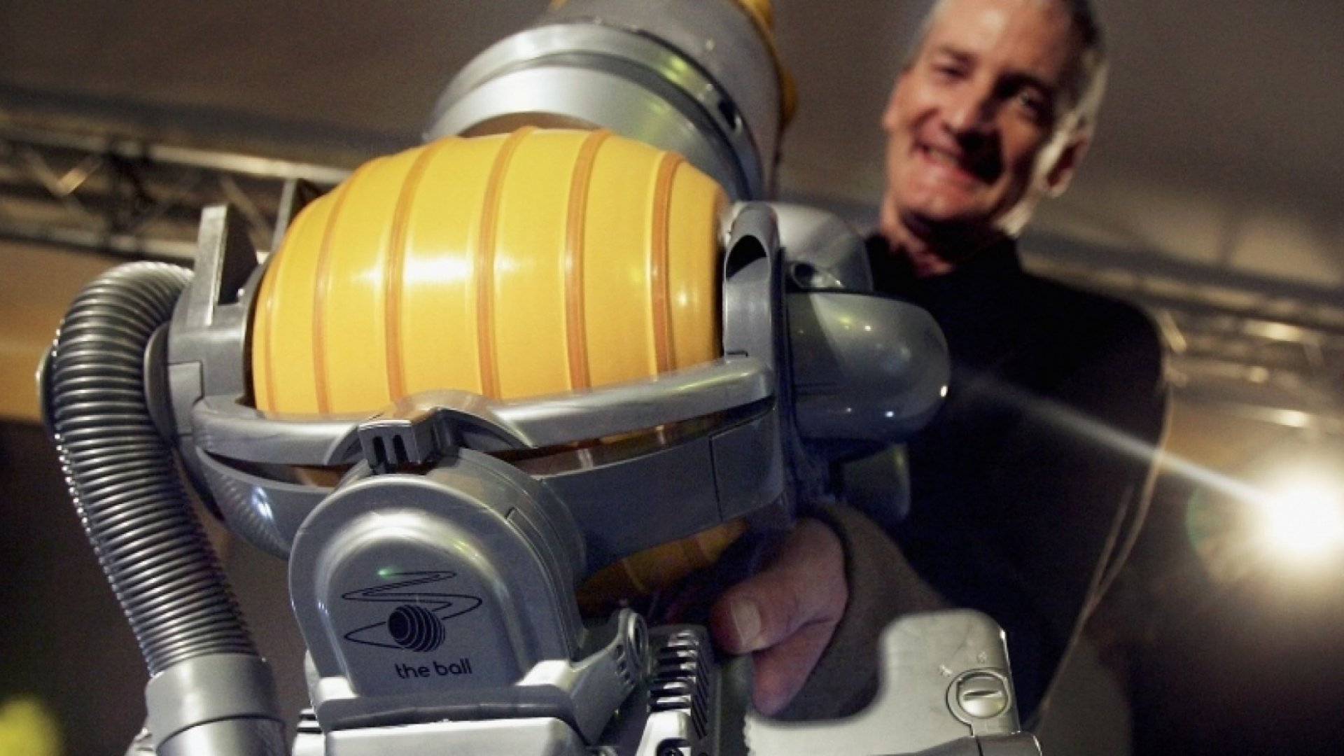 Suck It Up: James Dyson's Lessons in Perseverance
