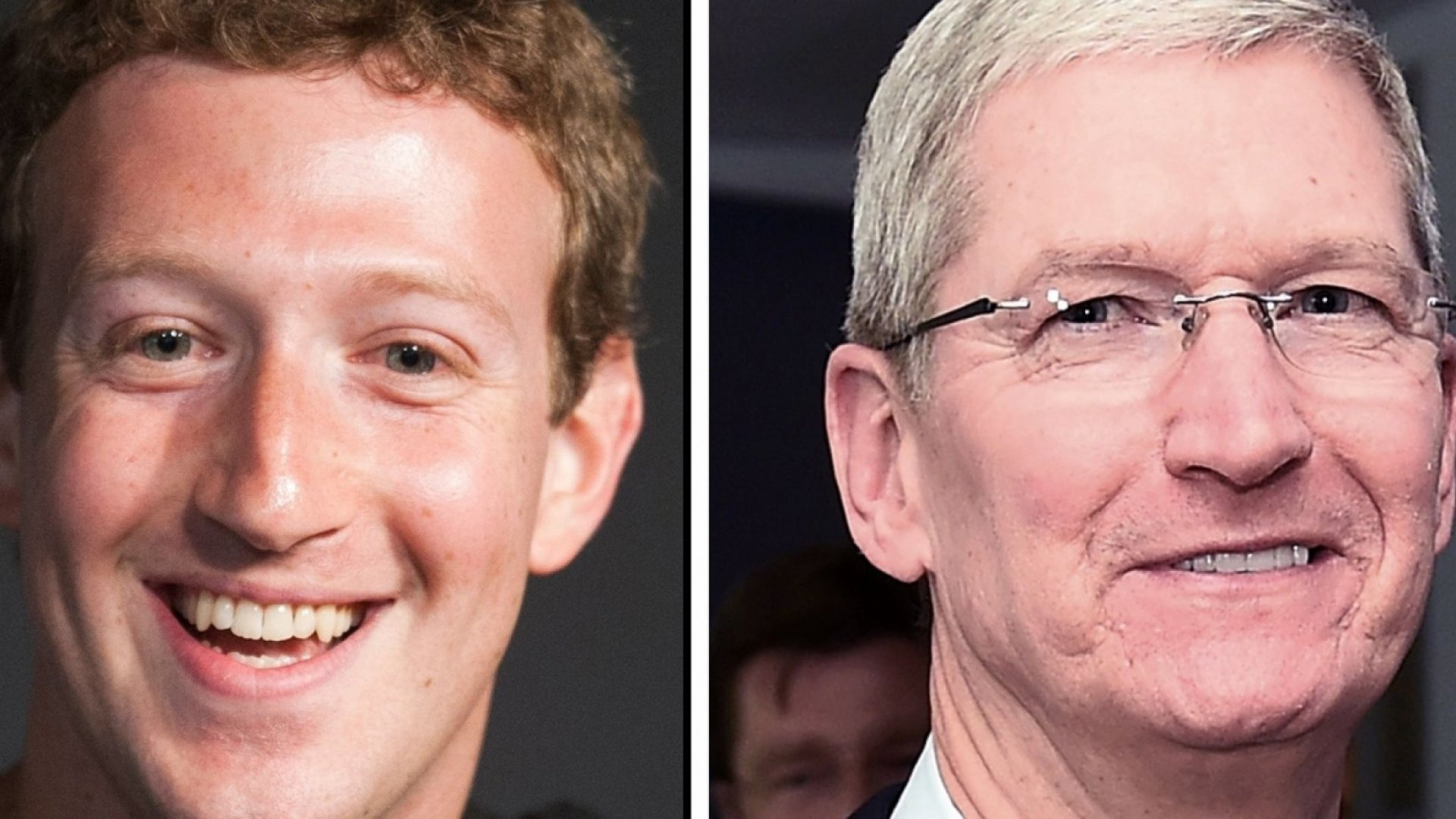 A Look Inside Tim Cook and Mark Zuckerberg's Not-So-Cold War